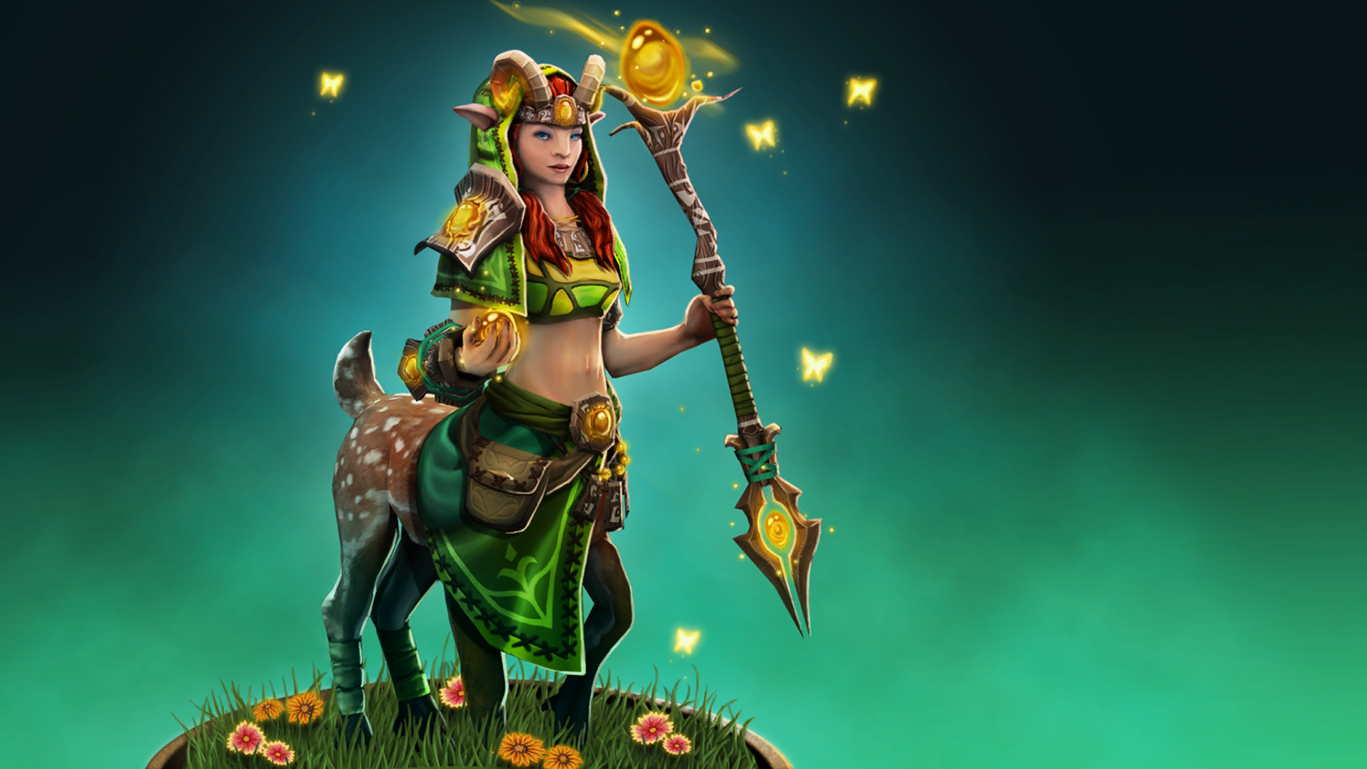 General 1920x1080 Dota 2 Loading screen Enchantress (Dota)