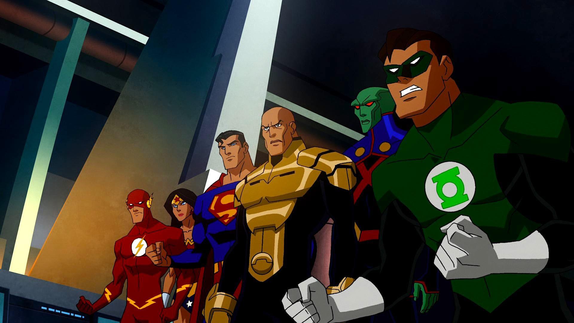 General 1920x1080 Justice League Flash Wonder Woman Superman Green Lantern The Flash
