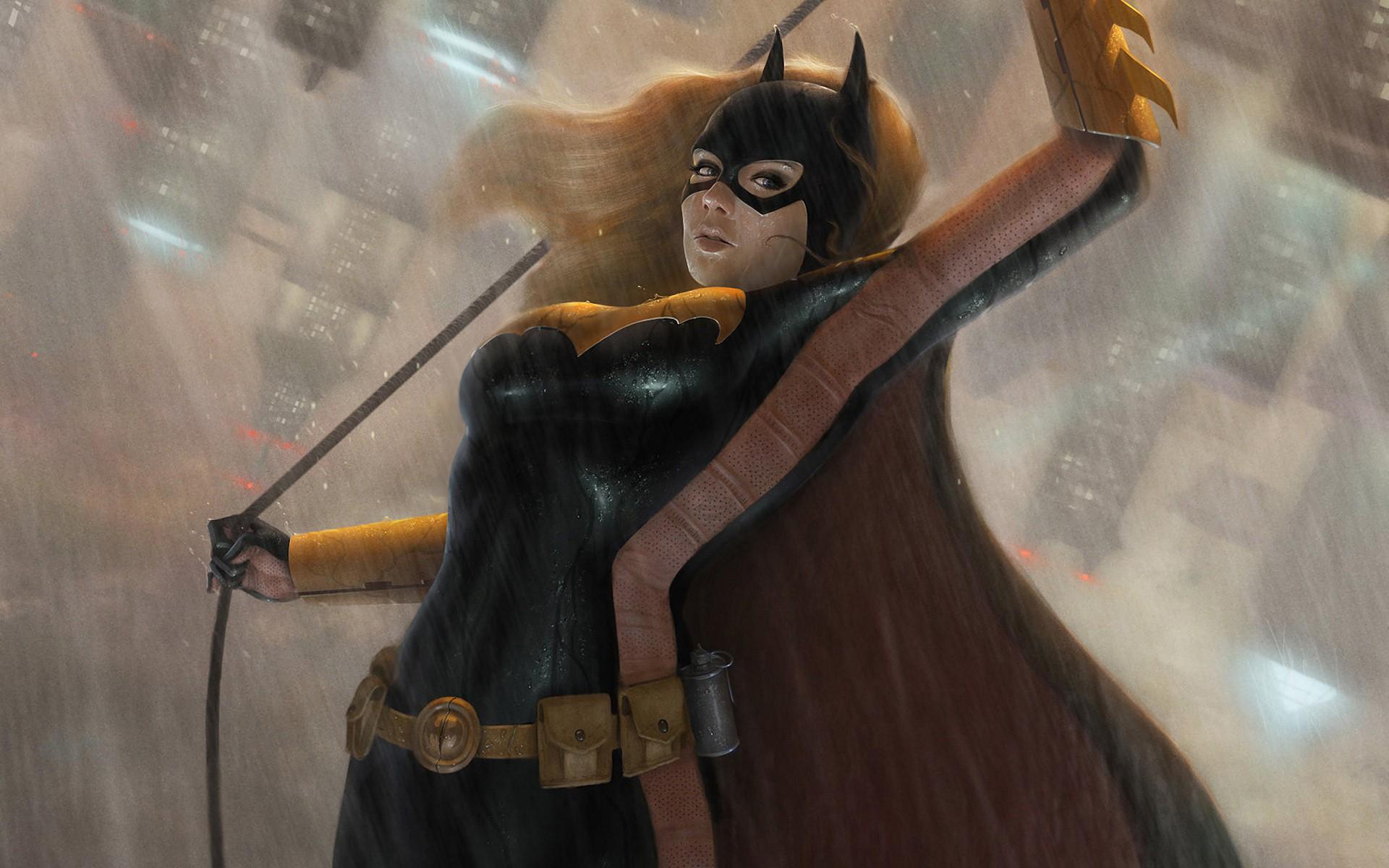 General 1920x1200 DC Comics superheroines Batgirl comics