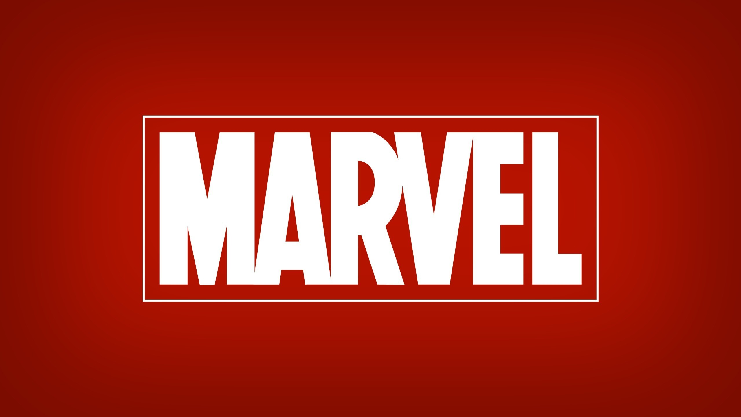 General 2560x1440 Marvel Comics red logo