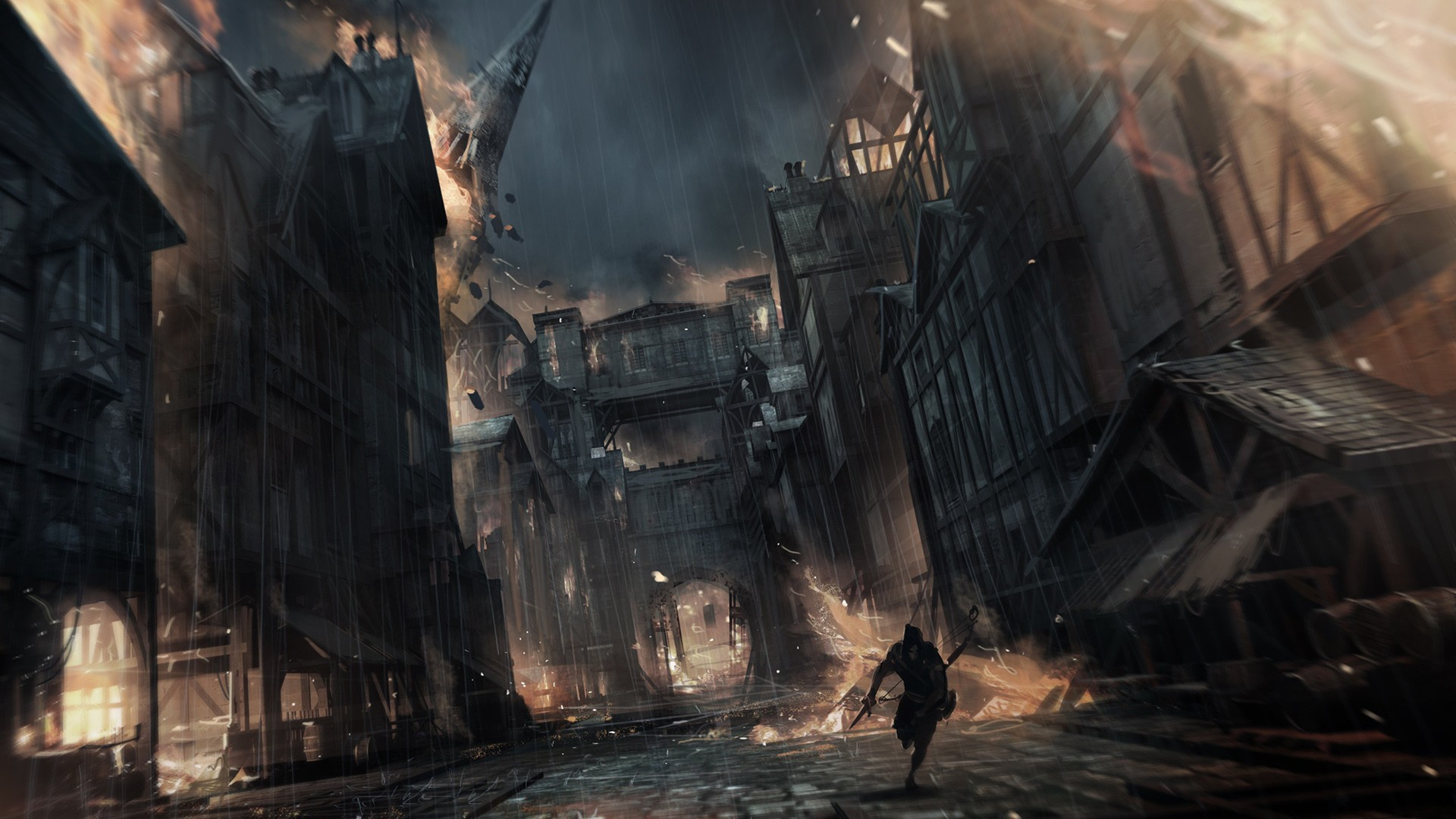 General 1920x1080 video games video game art fantasy city