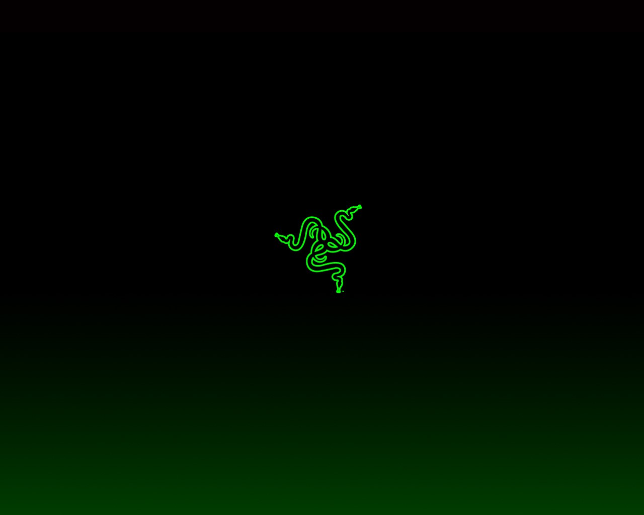 General 1280x1024 Razer logo simple background