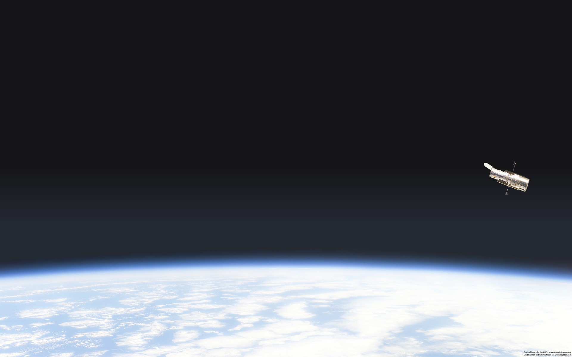 General 1920x1200 Earth satellite atmosphere space