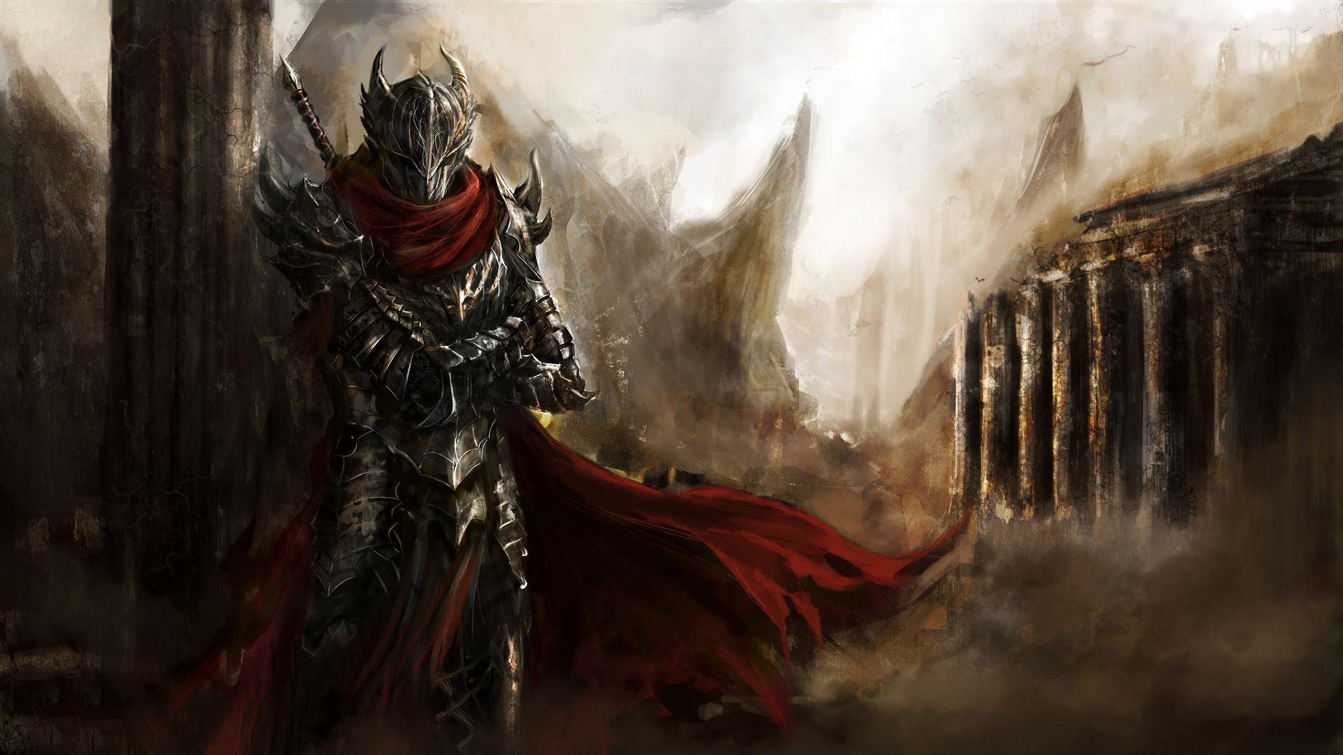 General 1920x1080 artwork fantasy art concept art knight medieval Guild Wars Guild Wars 2