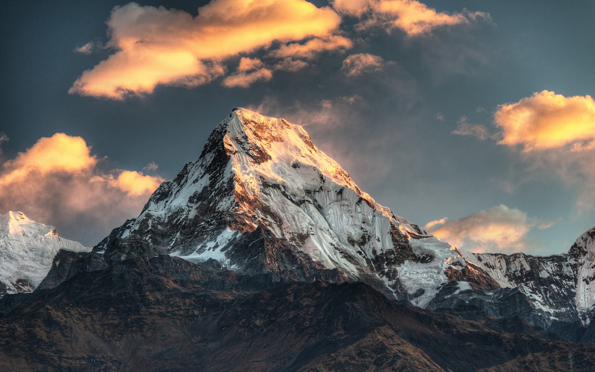 General 1920x1200 landscape mountains nature annapurna Himalayas