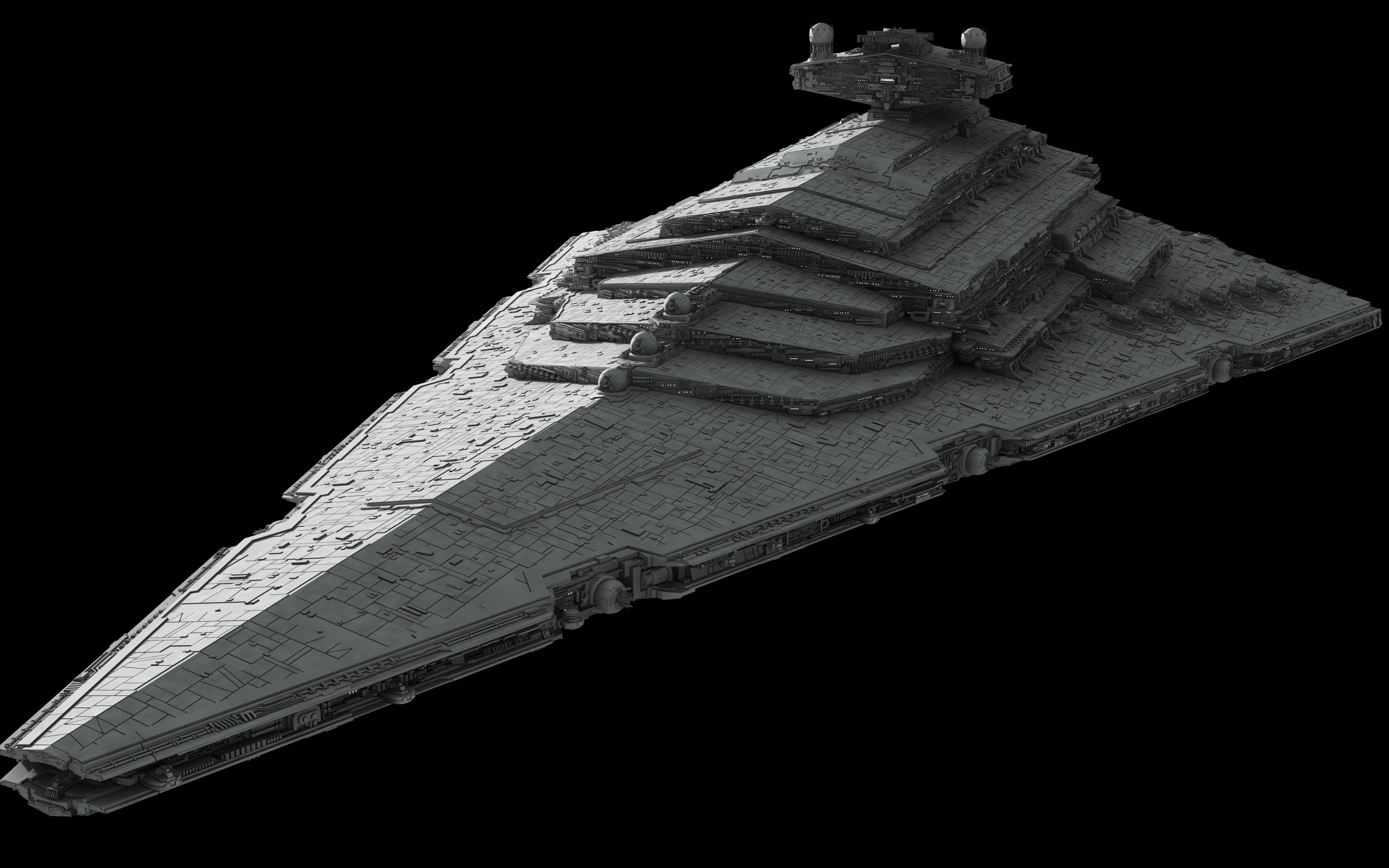General 3840x2400 Star Wars render CGI Star Destroyer spaceship digital art Star Wars Ships Imperial Forces