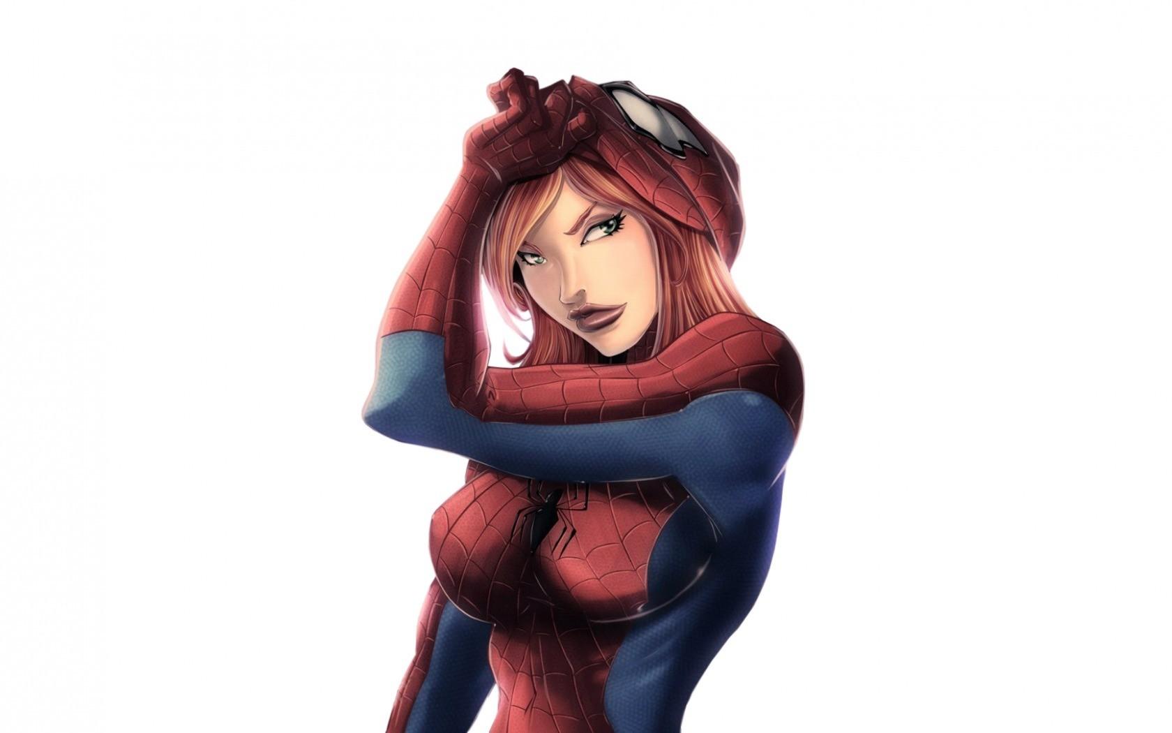General 1680x1050 Marvel Comics superheroines Spider-Girl Mary Jane Watson