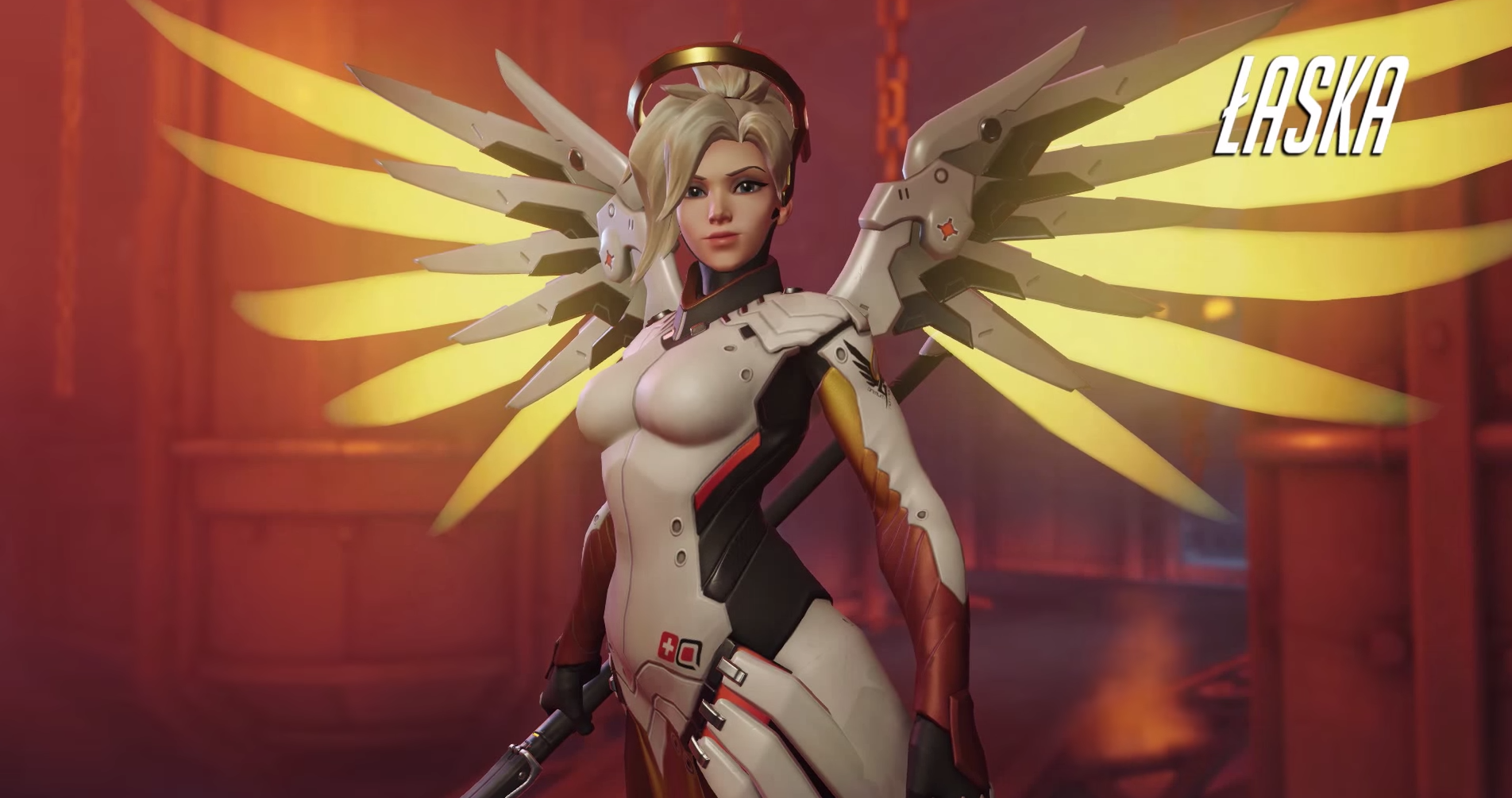 General 1904x1005 Overwatch video games Blizzard Entertainment Angela Ziegler Mercy (Overwatch)