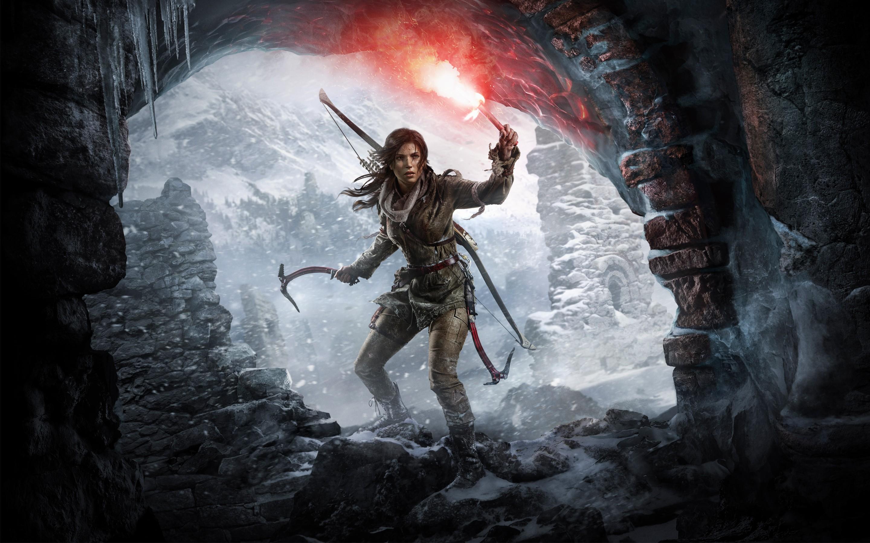 General 2880x1800 Lara Croft Tomb Raider video games
