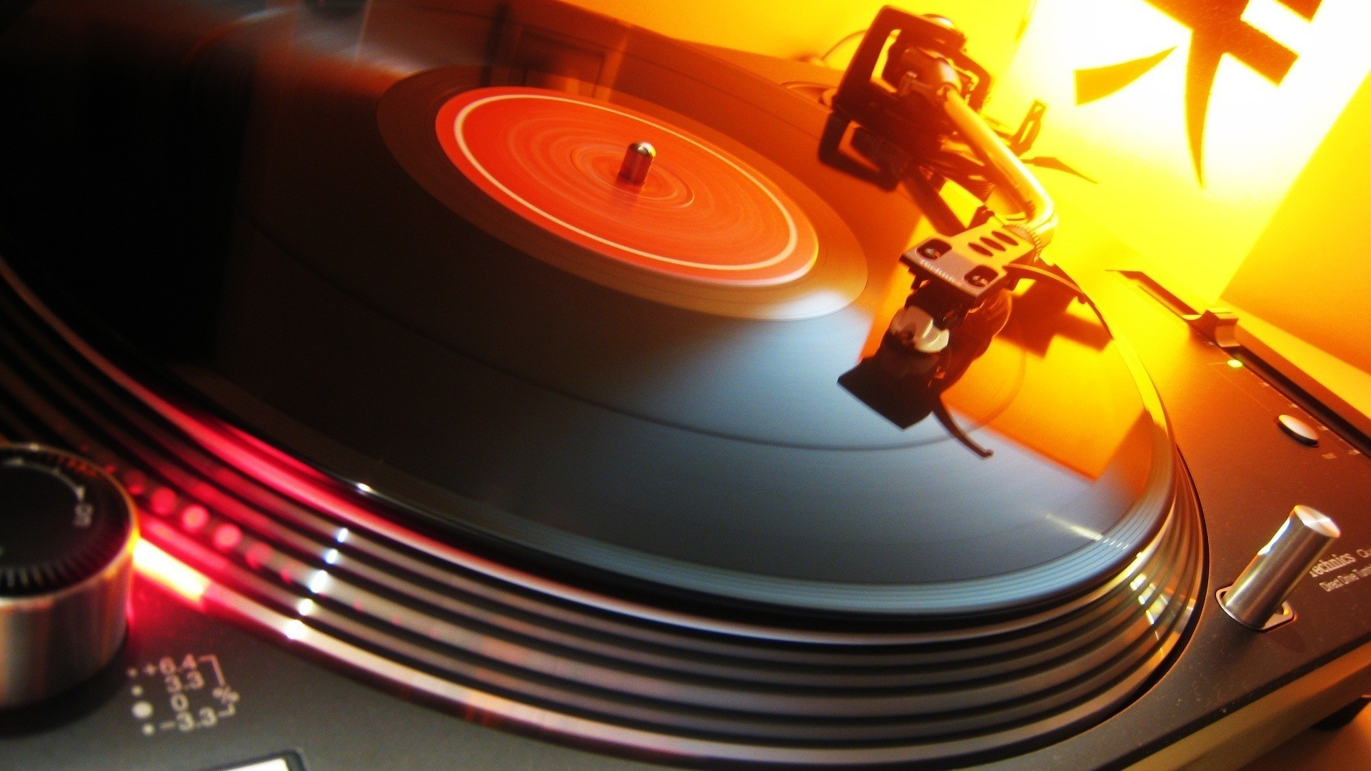 General 1920x1080 turntables DJ vinyl music technology