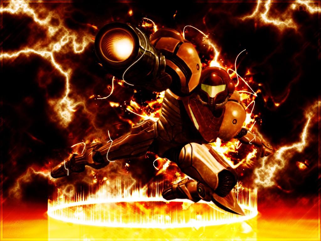 General 1024x768 Super Metroid Samus Aran video game art video games fan art Video Game Heroes