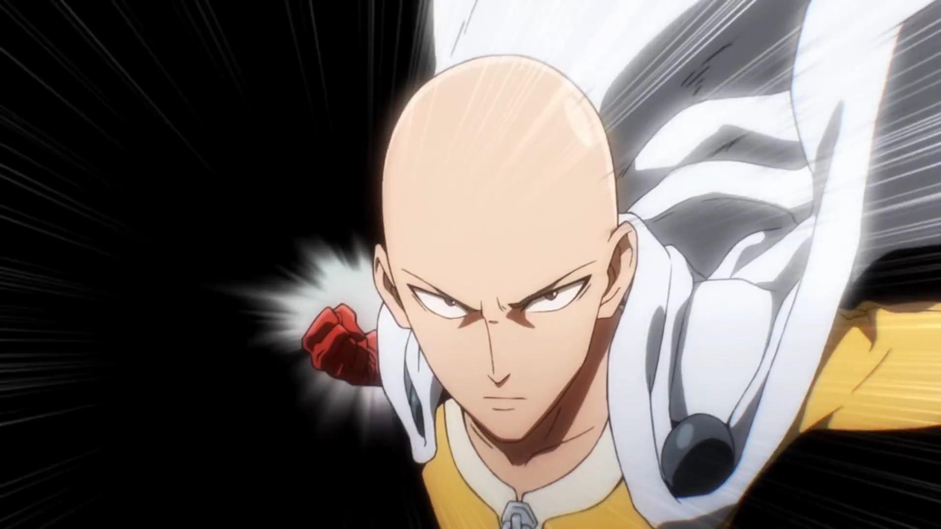 Anime 1920x1080 One-Punch Man Saitama anime boys bald anime