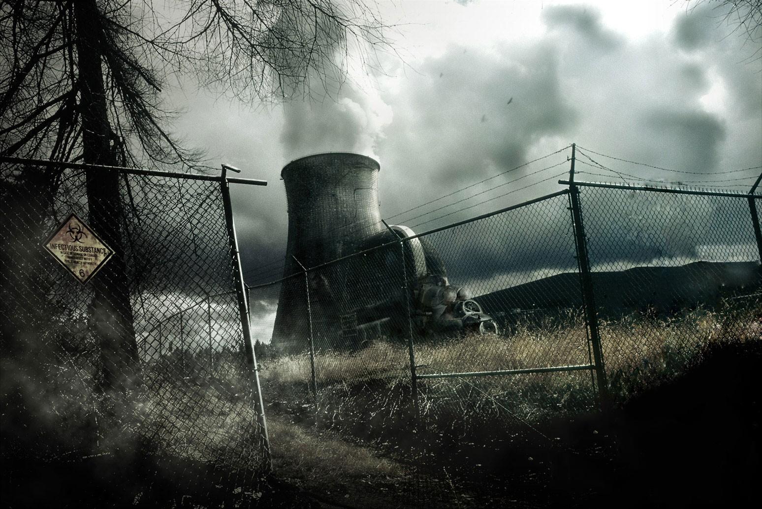 General 1548x1034 dystopian apocalyptic fence dark
