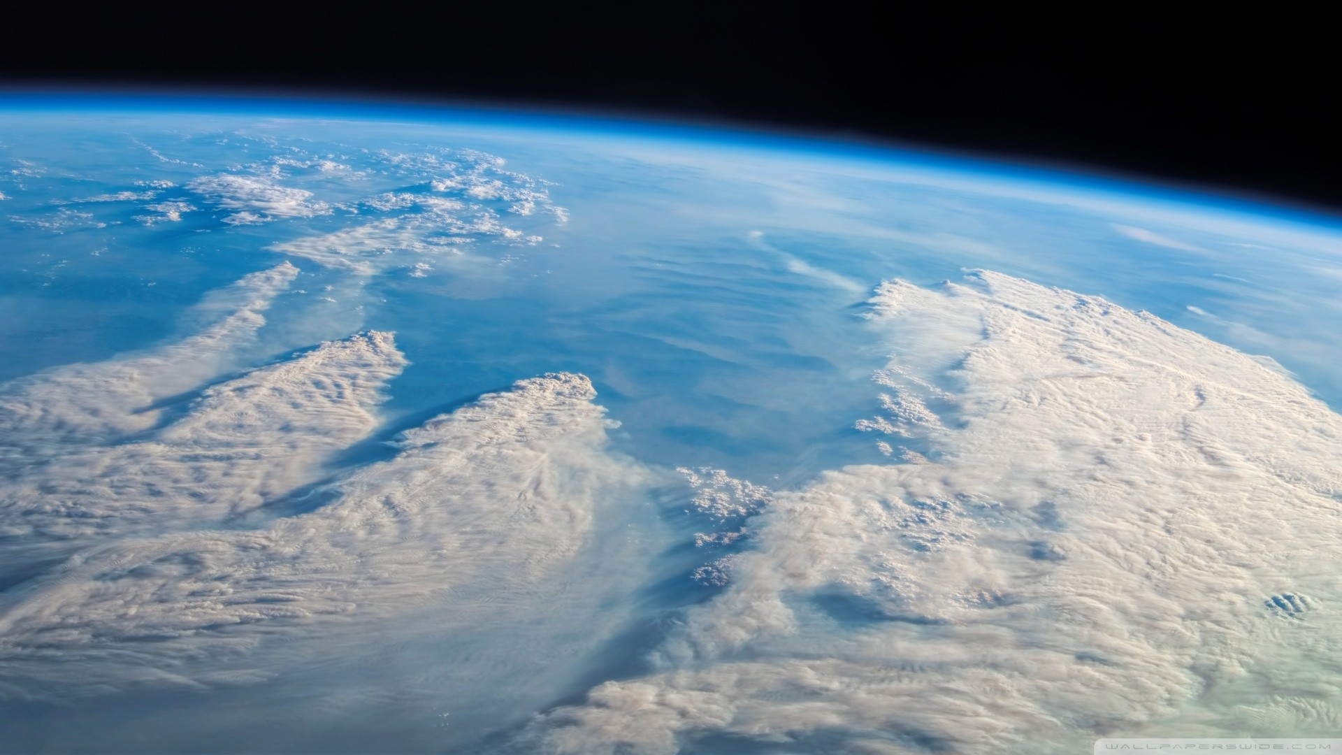 General 1920x1080 atmosphere clouds space Earth spacescapes orbital view
