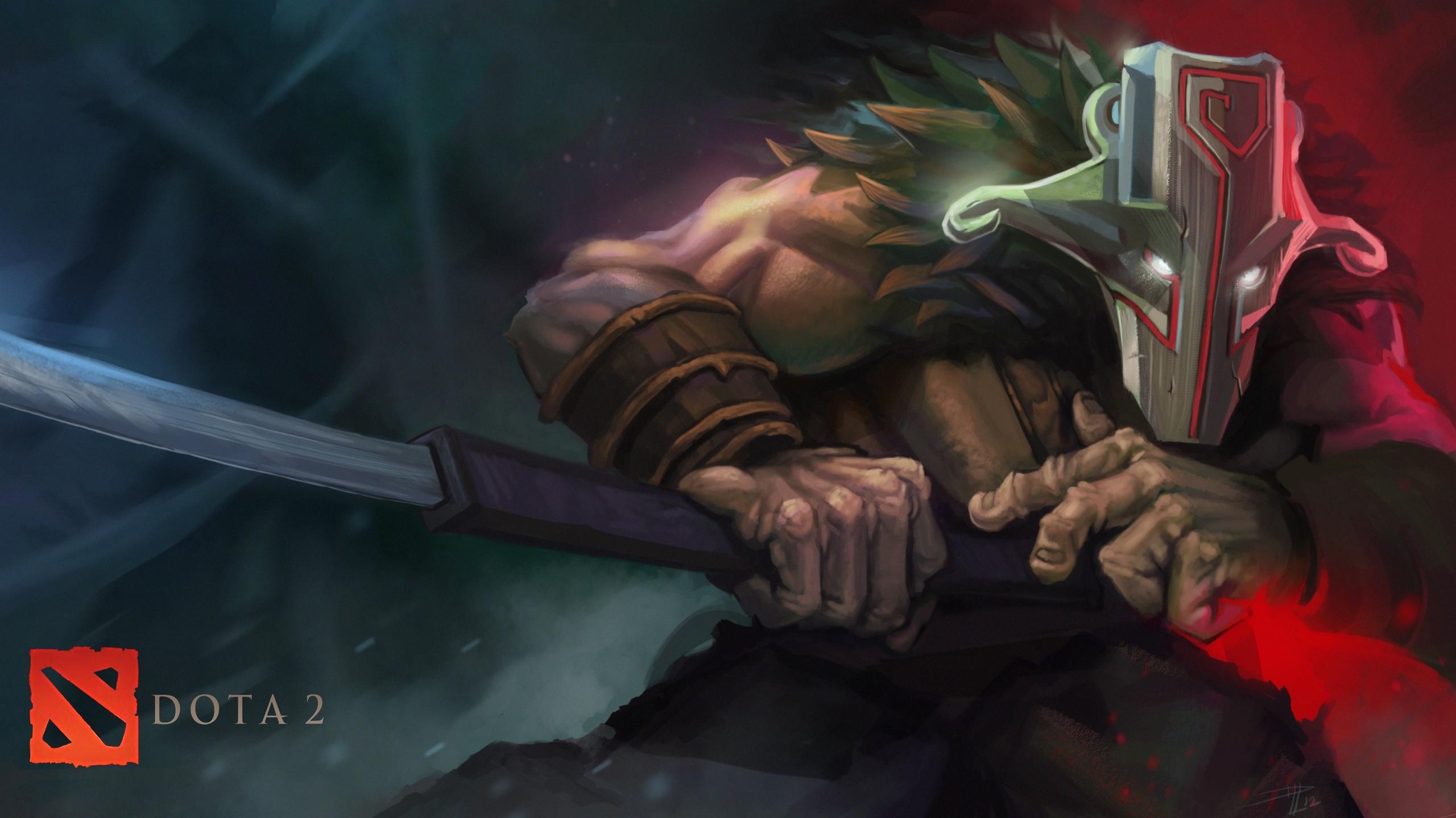General 2560x1440 Dota 2 Dota Defense of the ancient Valve Valve Corporation Juggernaut video games
