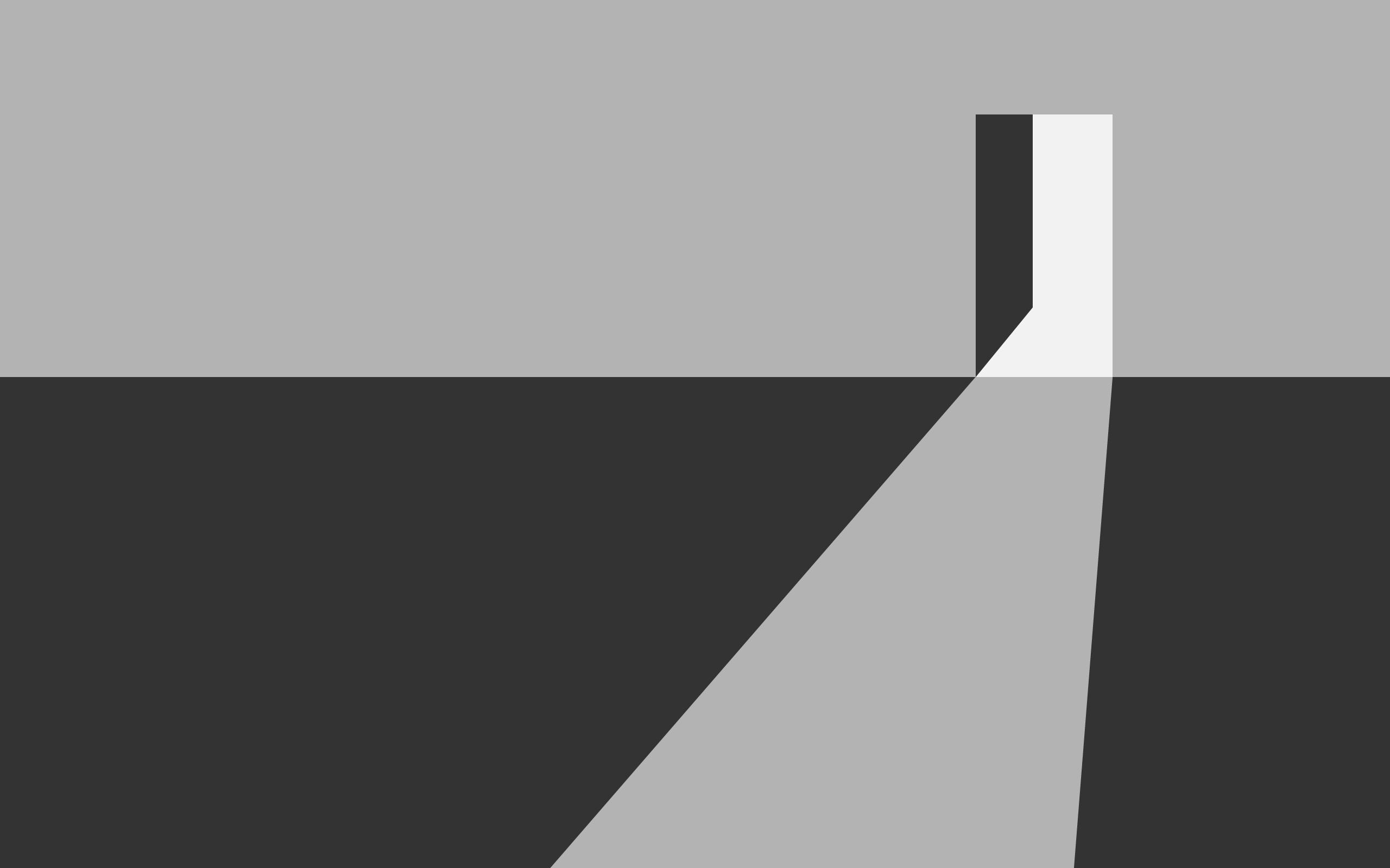 General 2560x1600 door minimalism digital art artwork simple gray geometry