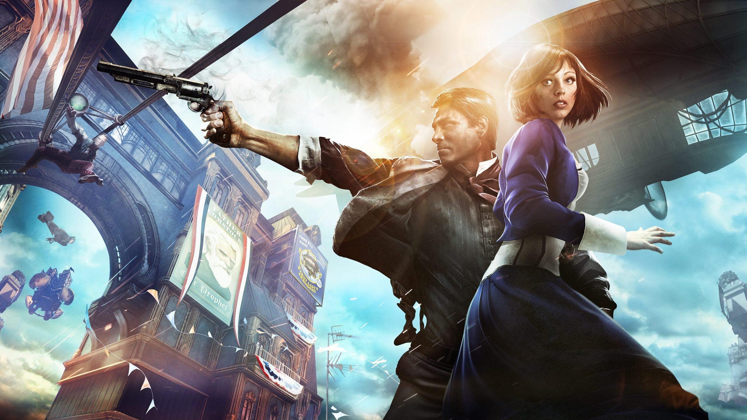 General 2560x1440 BioShock BioShock Infinite video games