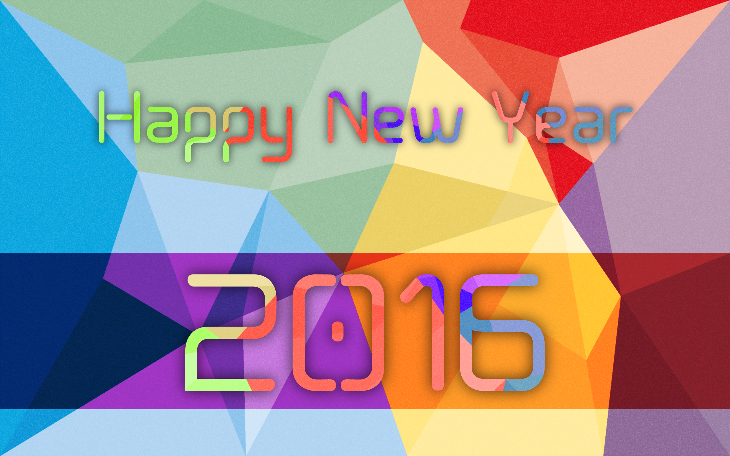 General 2560x1600 abstract New Year minimalism modern colorful vector