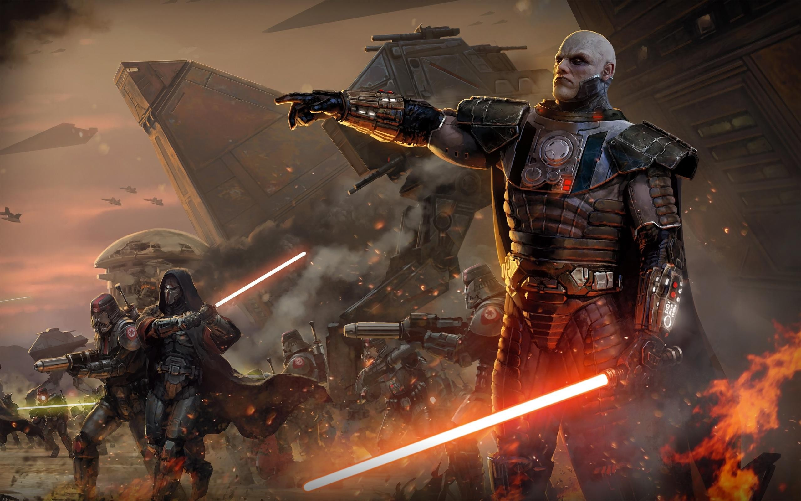 General 2560x1600 Star Wars Star Wars: The Old Republic lightsaber video games