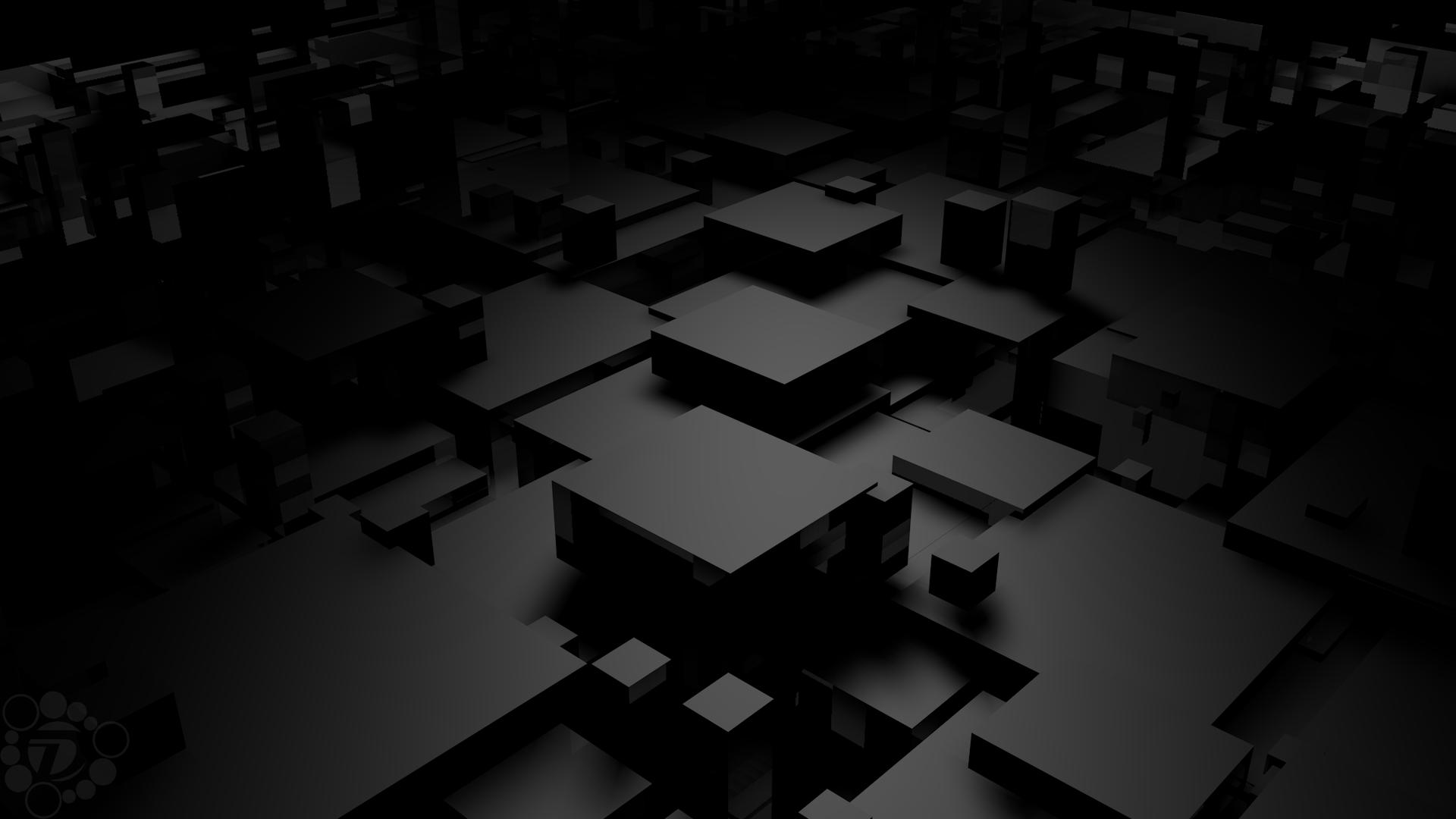 General 1920x1080 monochrome abstract digital art