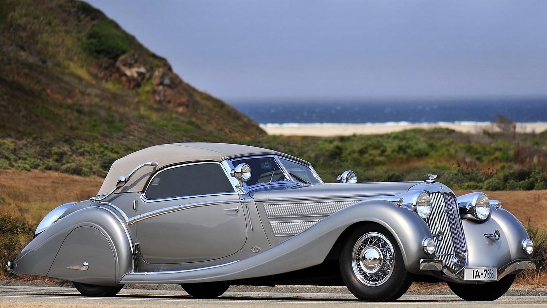 General 1920x1080 car Oldtimer oldtimers numbers vehicle silver cars