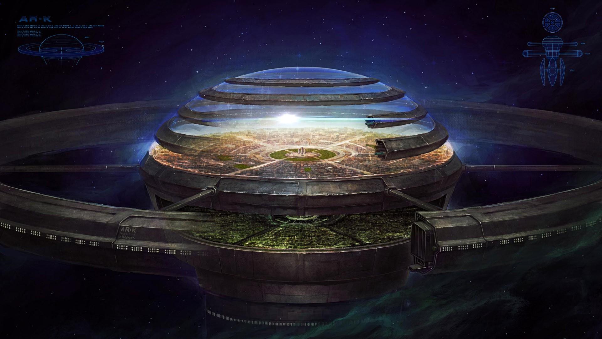 General 1920x1080 fantasy art space science fiction futuristic