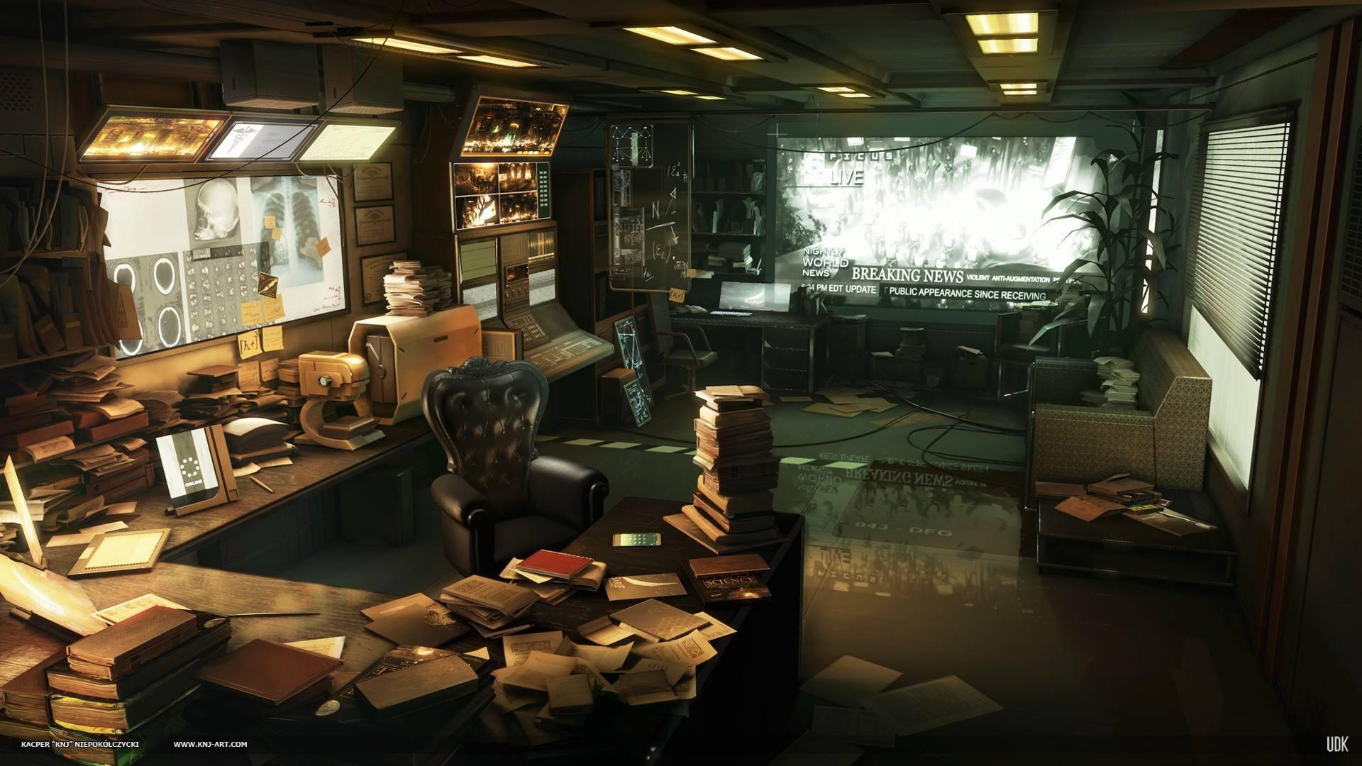 General 1920x1080 Deus Ex: Human Revolution artwork video games