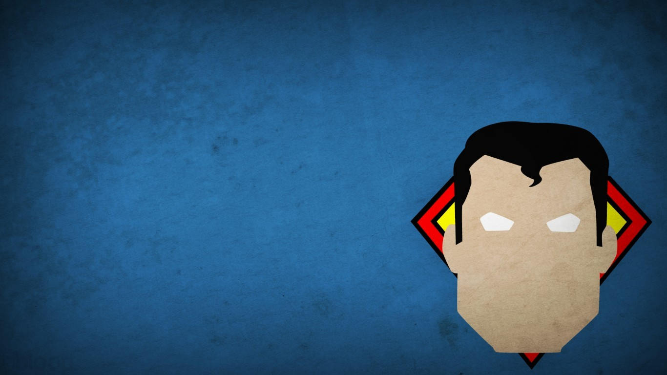 General 1366x768 Superman superhero Blo0p