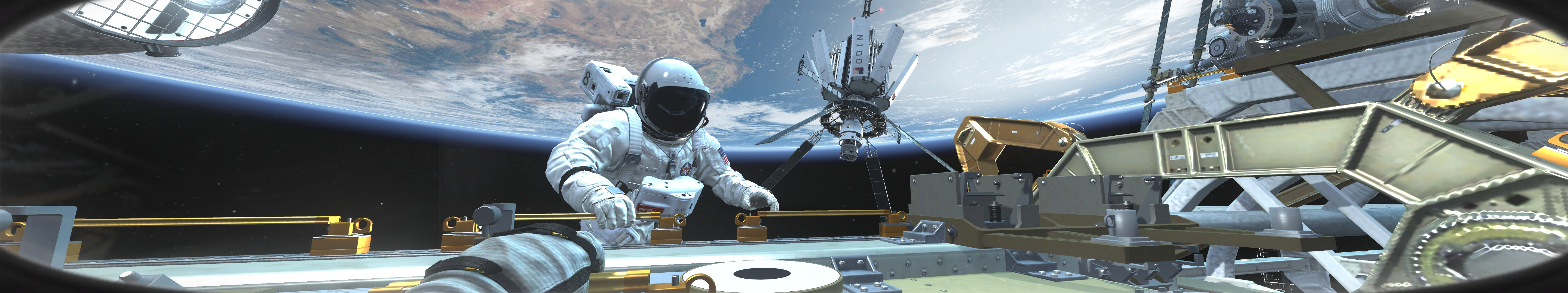 General 5760x1080 Call of Duty: Ghosts space science fiction digital art render CGI video games Call of Duty