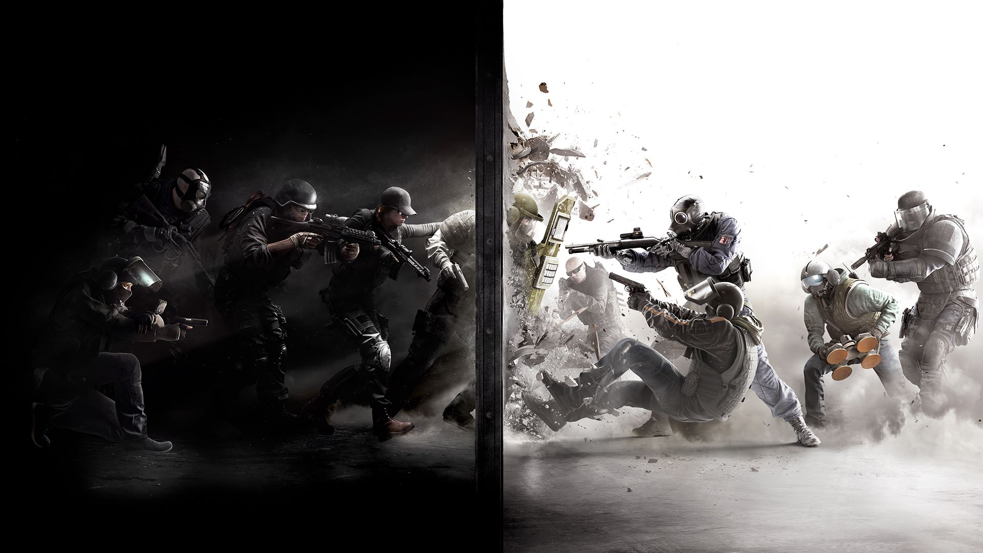 General 1920x1080 Rainbow 6: Siege military games art Video Game Art