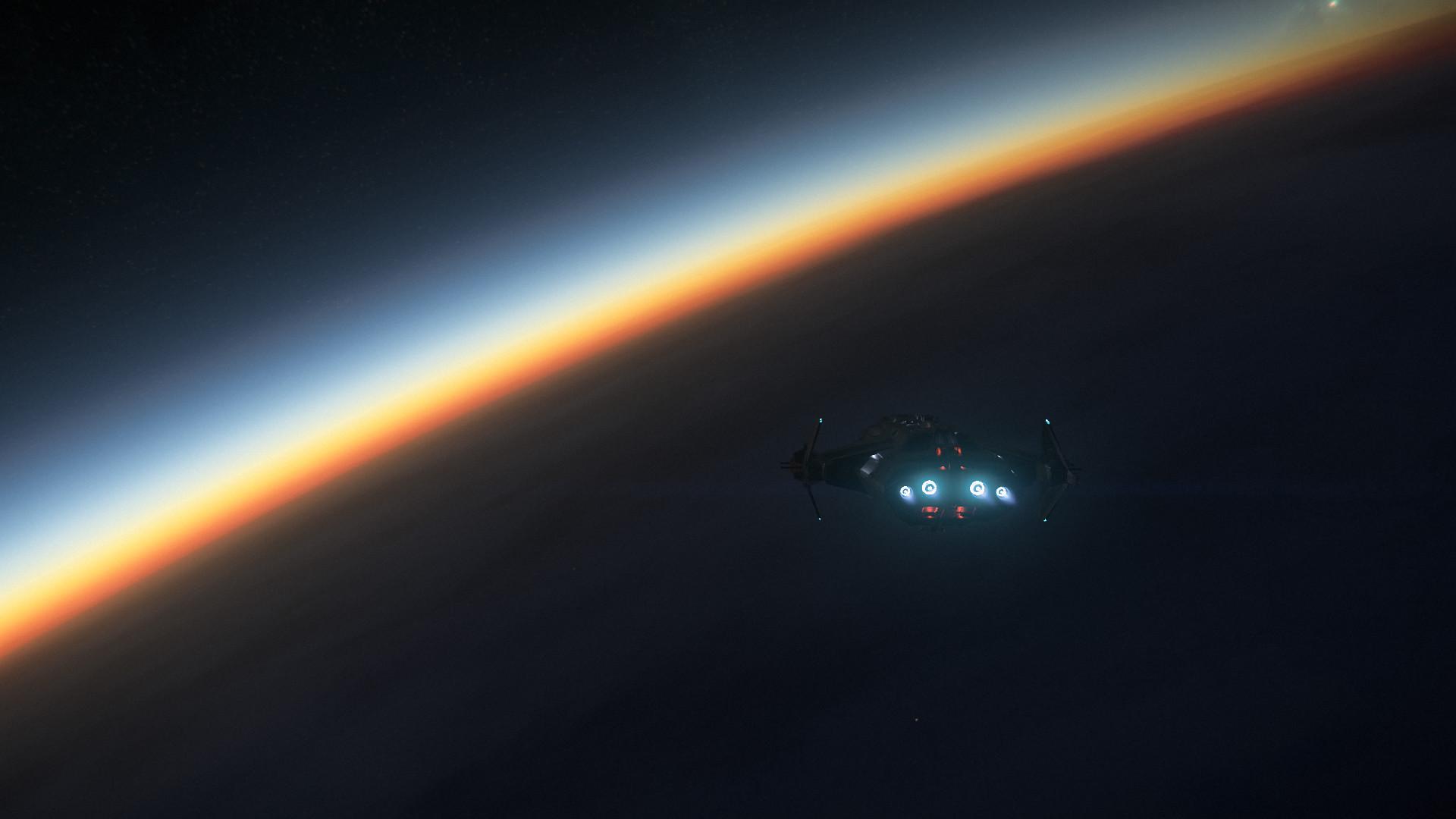General 1920x1080 meteorite Star Citizen Robert Space Industries space stars video game art video games sunrise Anvil Carrack