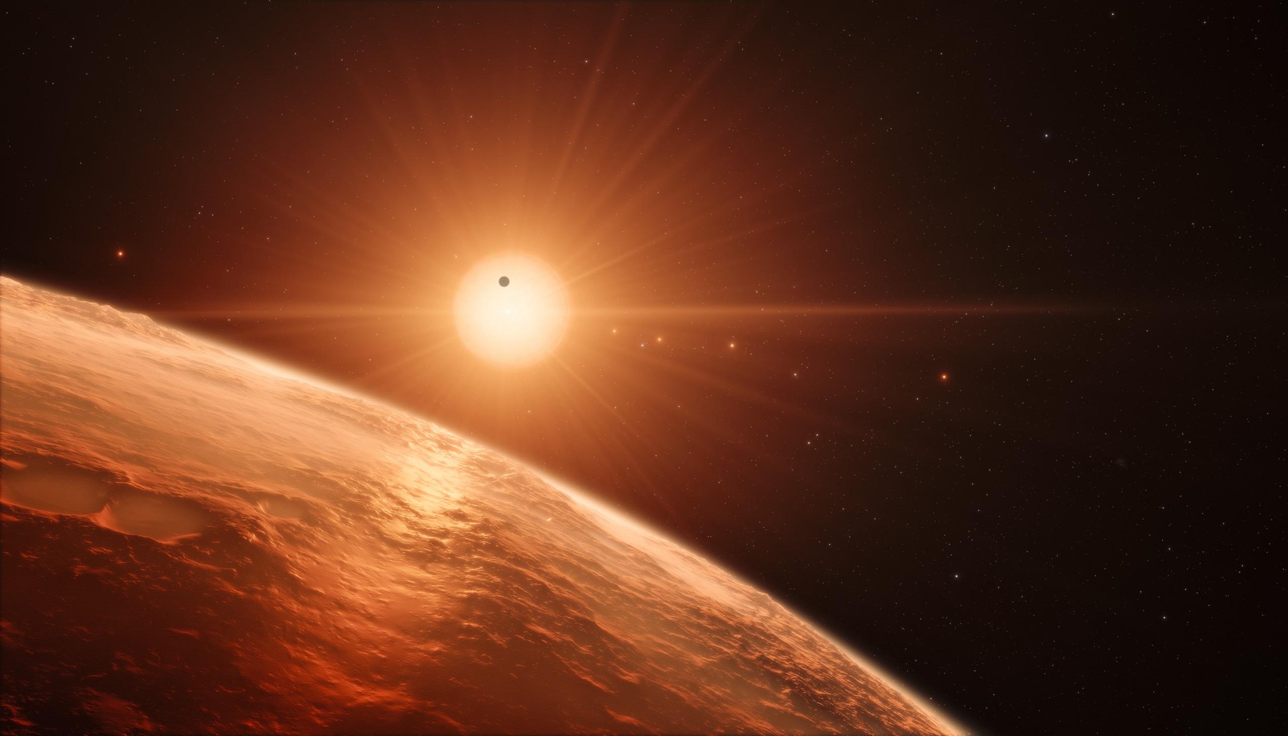 General 2540x1452 concept art universe Sun stars sun rays planet space art space