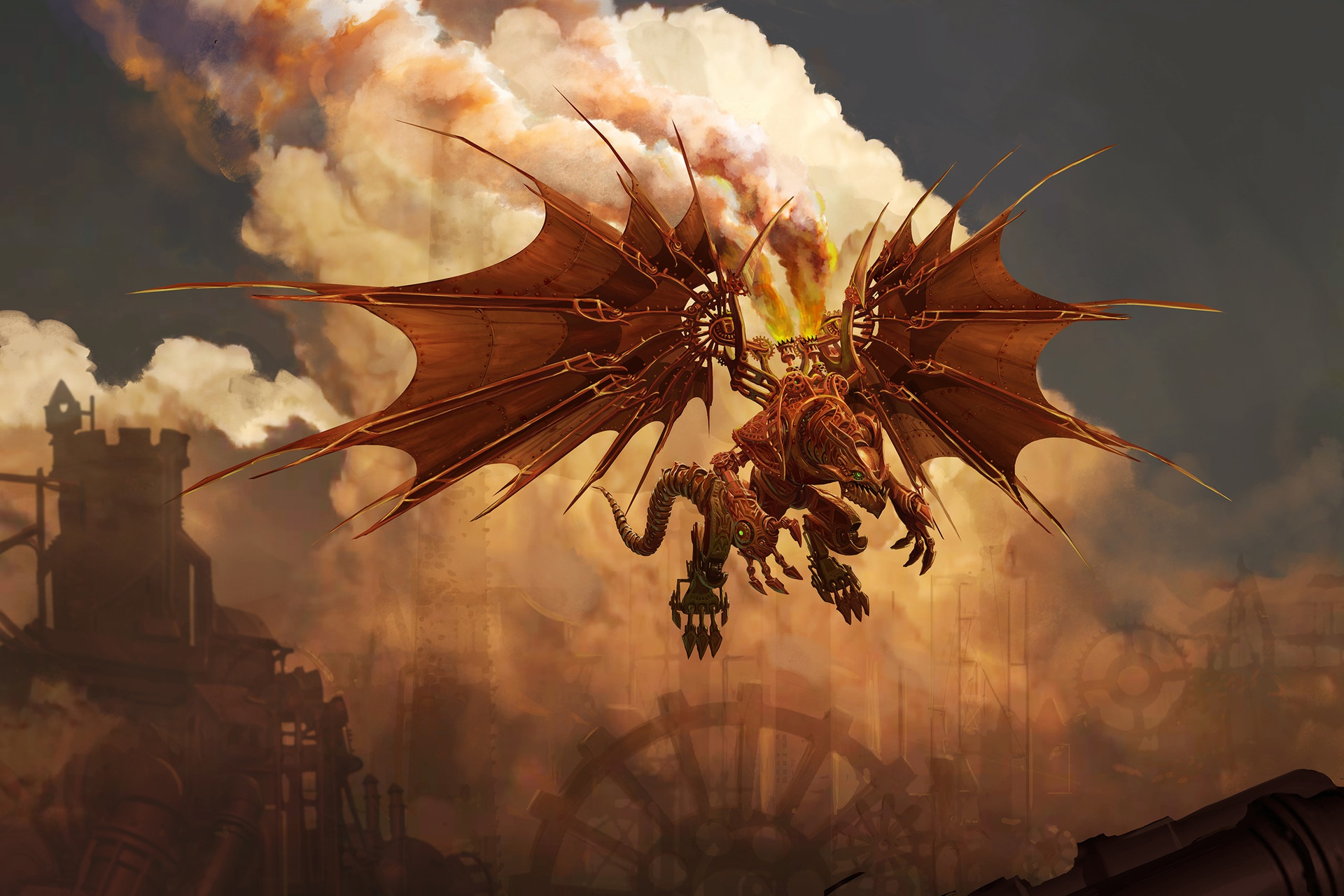 General 1920x1280 dragon creature fantasy art artwork