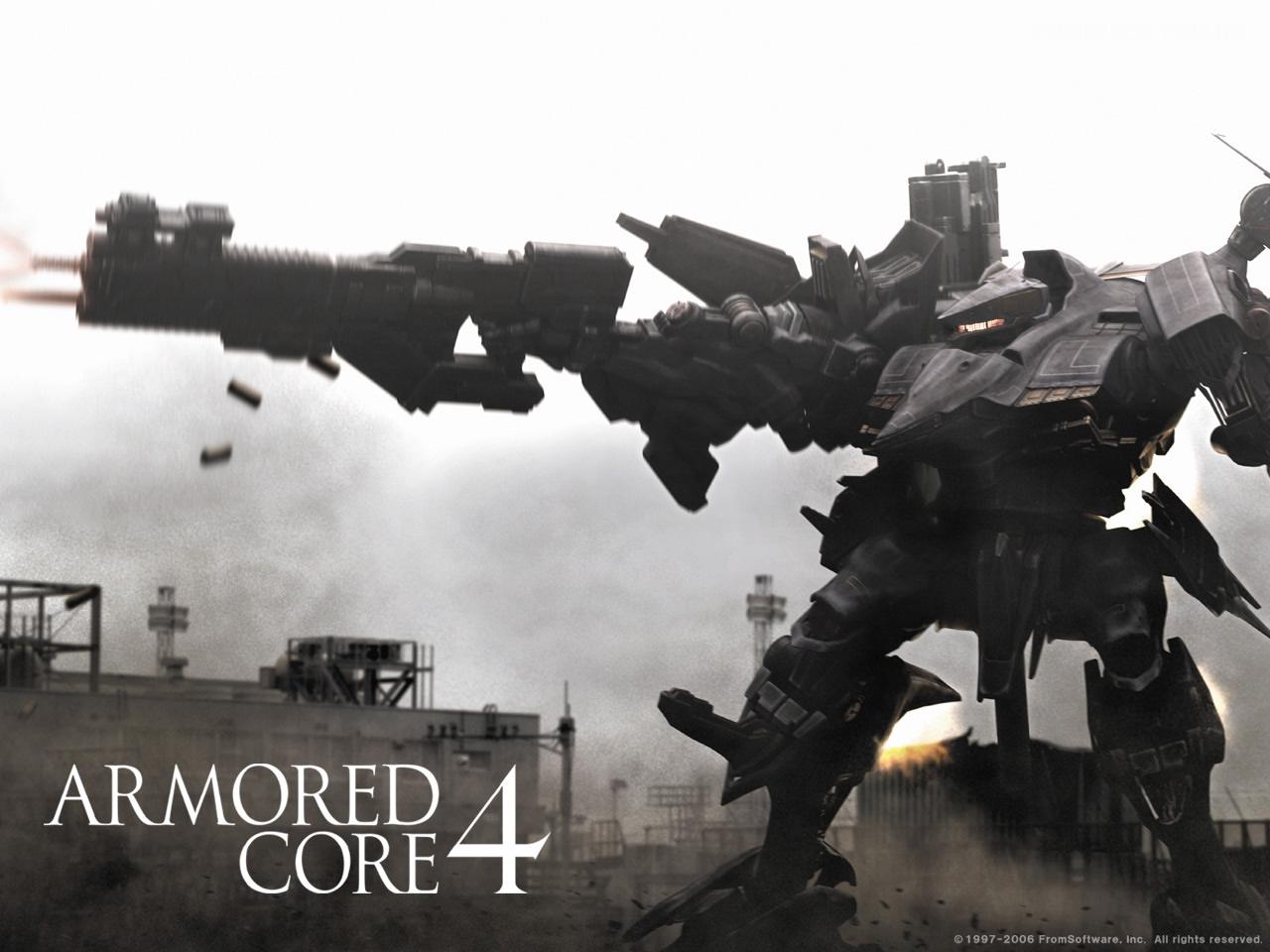 General 1280x960 Armored Core mech robot