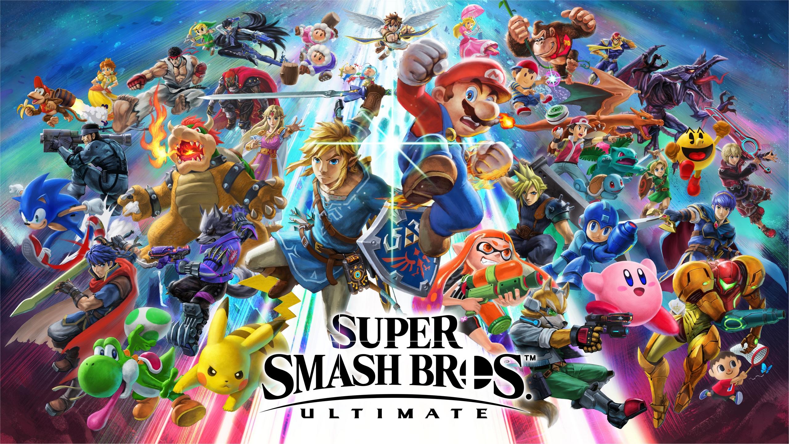 General 2560x1440 Super Smash Bros. Ultimate Super Smash Brothers video games Nintendo video game art