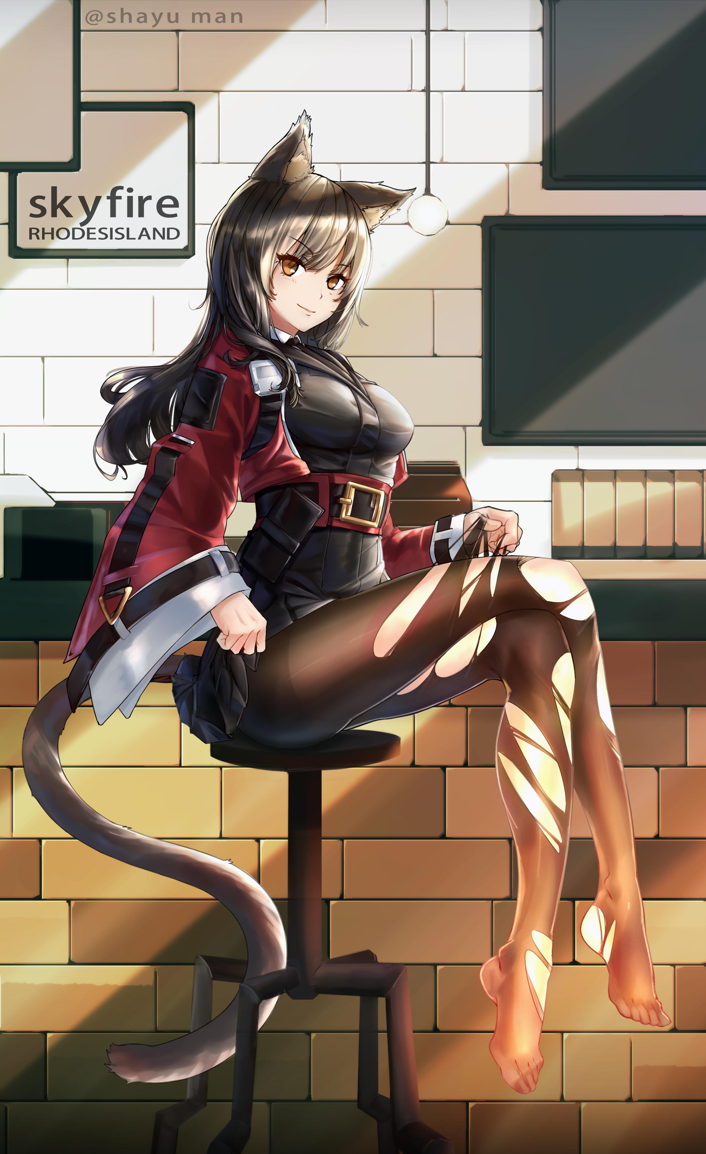 spread legs, thighs, fu-ta, anime, anime girls, simple