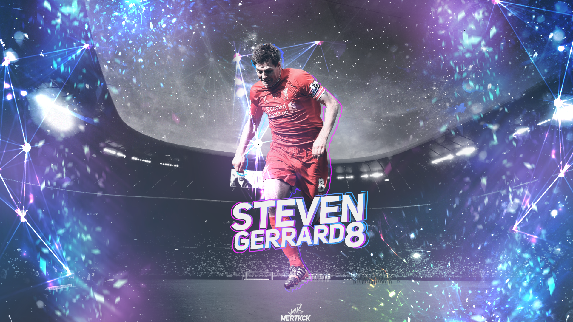 General 1920x1080 Steven Gerrard Liverpool FC Liverpool British Football Player