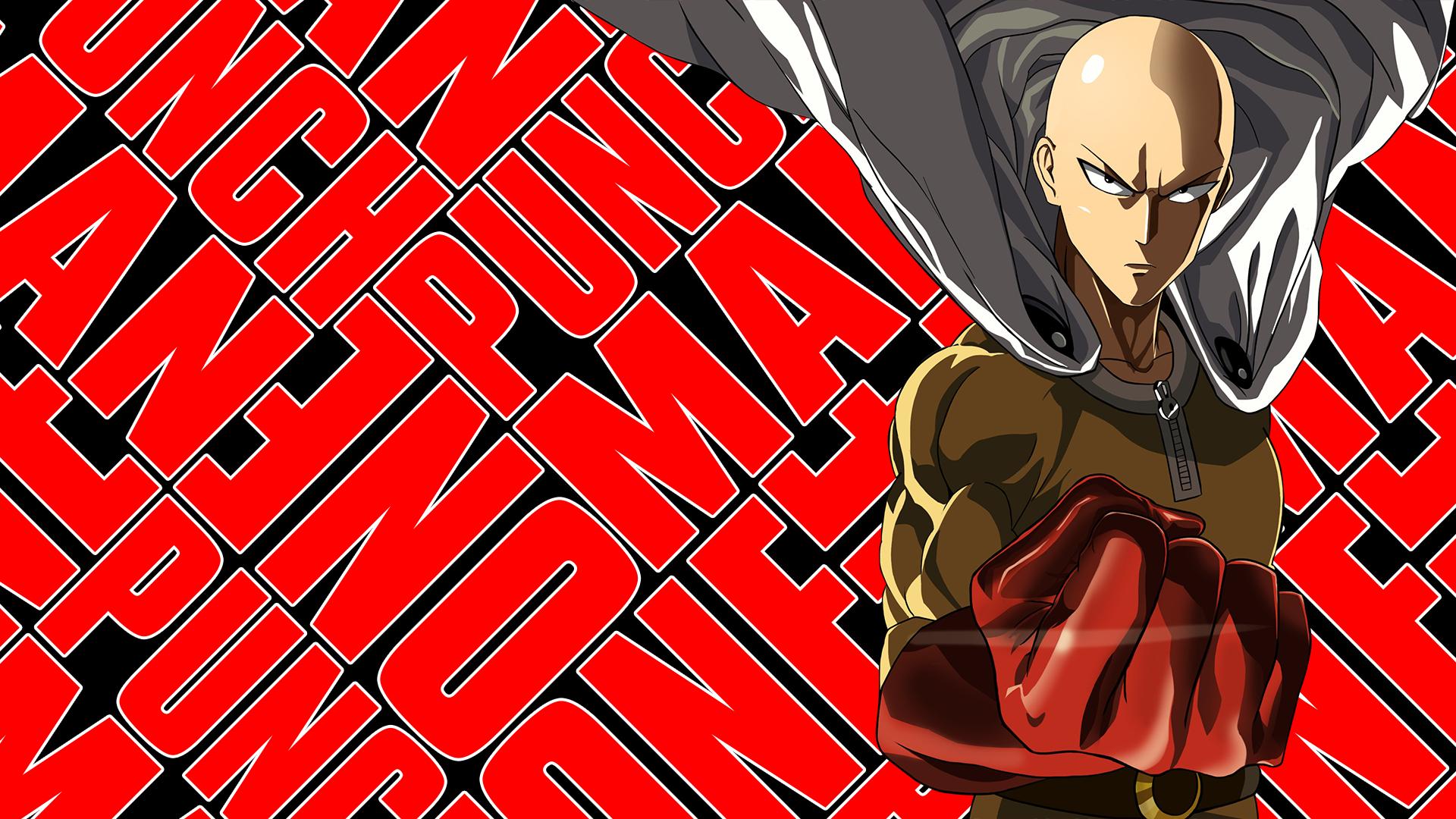 Anime 1920x1080 One-Punch Man Saitama artwork anime anime boys