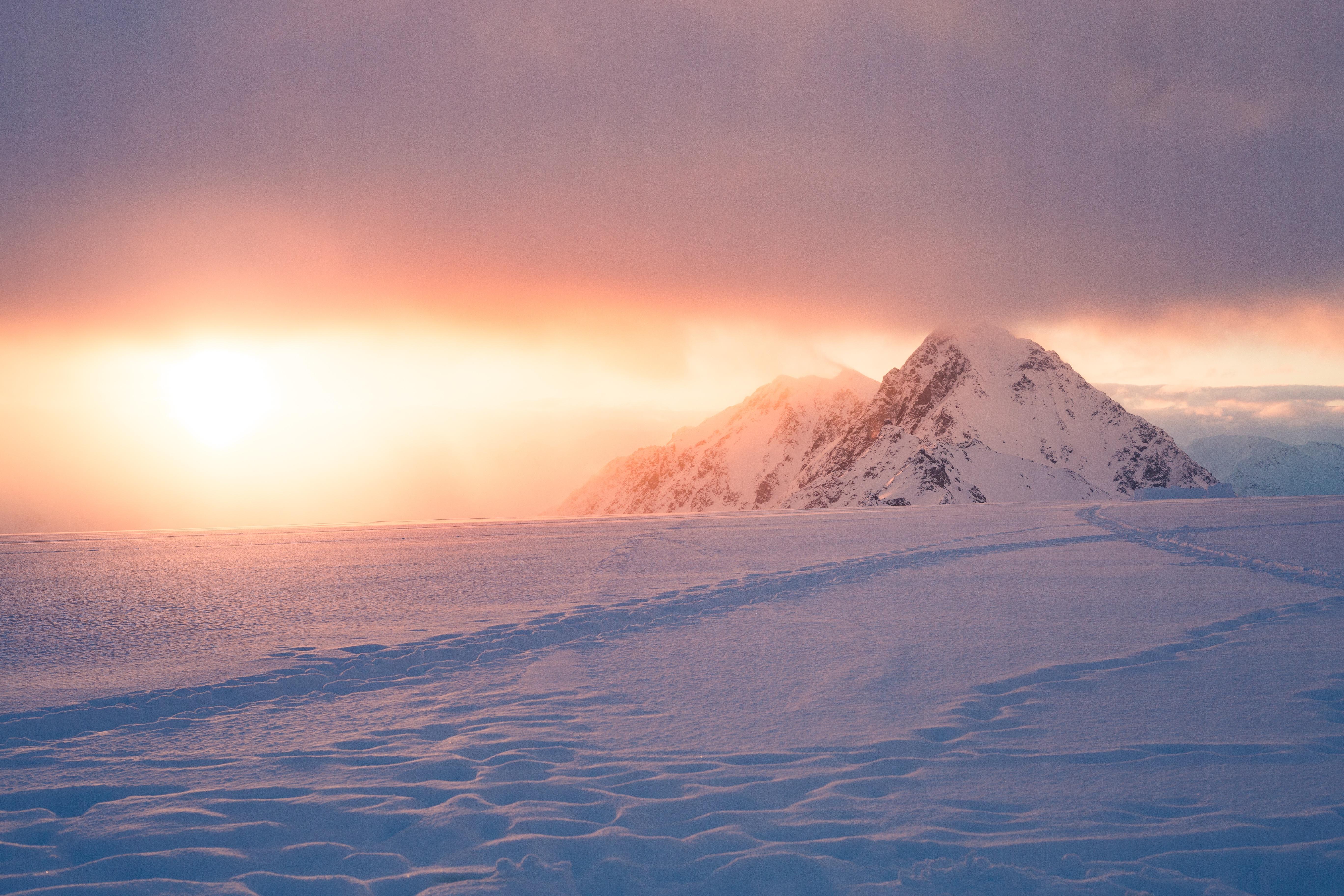 General 5472x3648 nature snow mountains mist