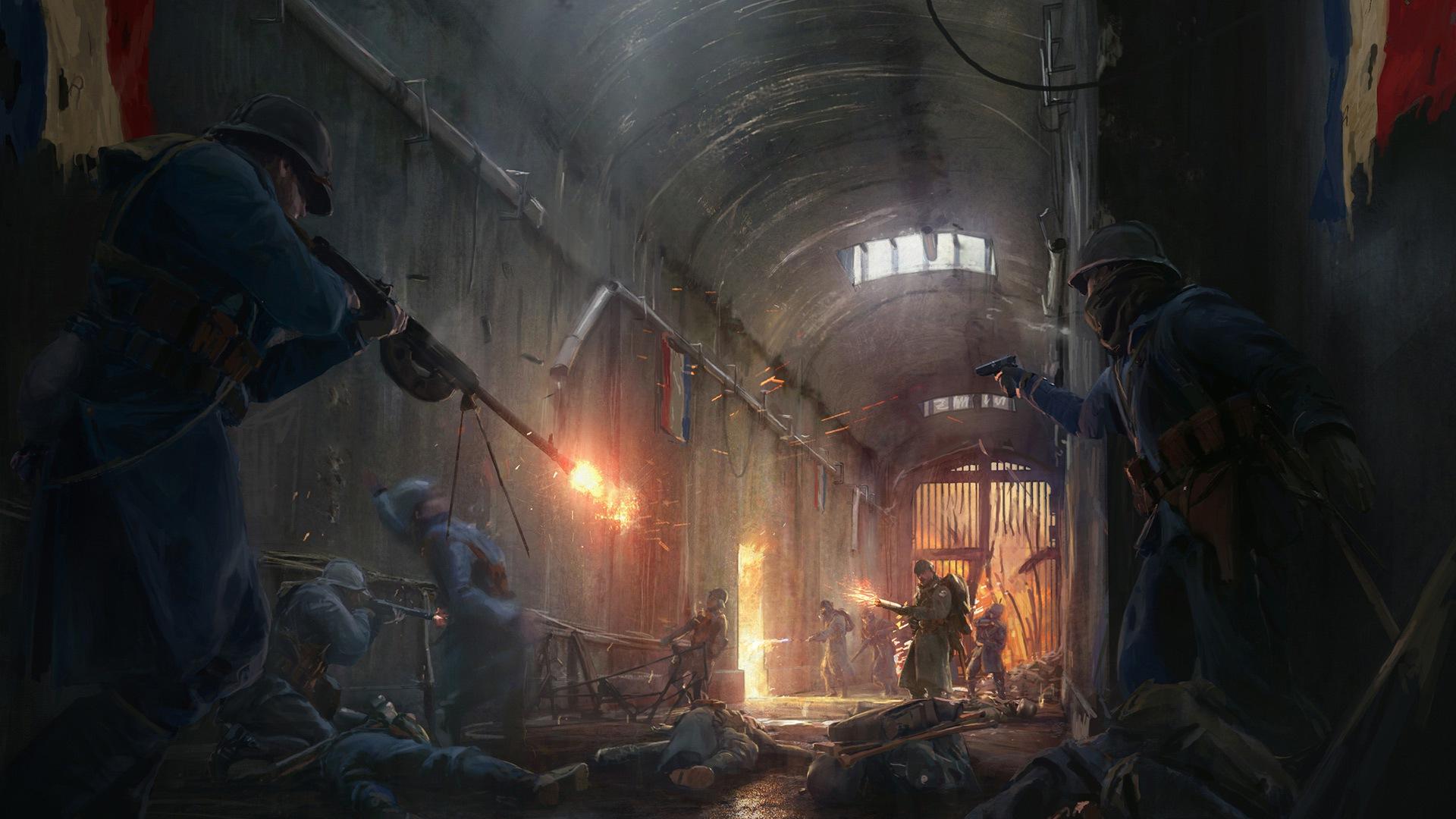 General 1920x1080 video games Battlefield 1 DLC France