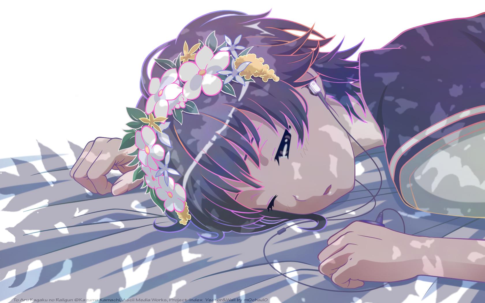 Anime 1680x1050 anime girls anime Uiharu Kazari To Aru Kagaku no Railgun To aru Majutsu no Index