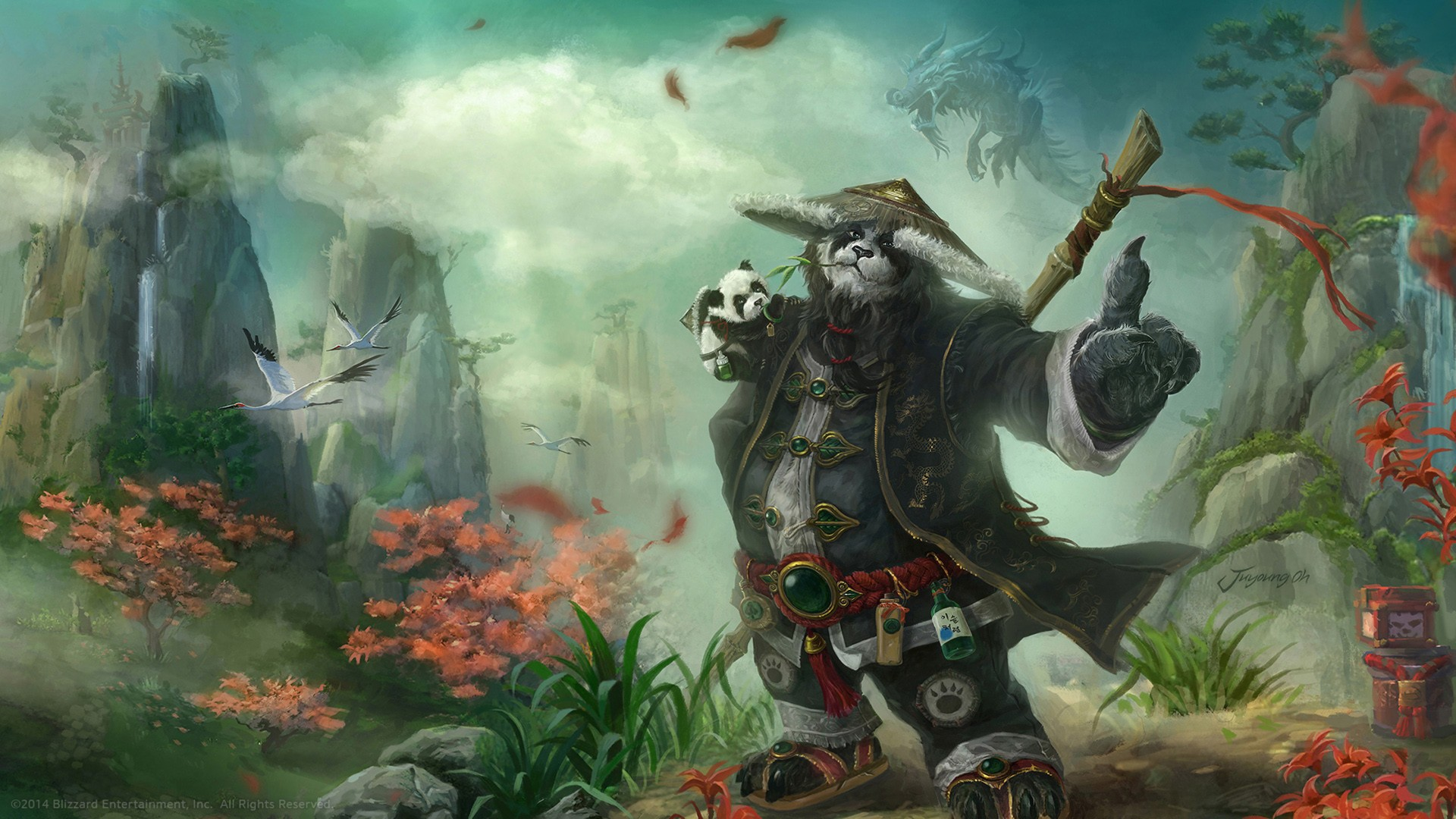 General 1920x1080 World of Warcraft World of Warcraft: Mists of Pandaria video games