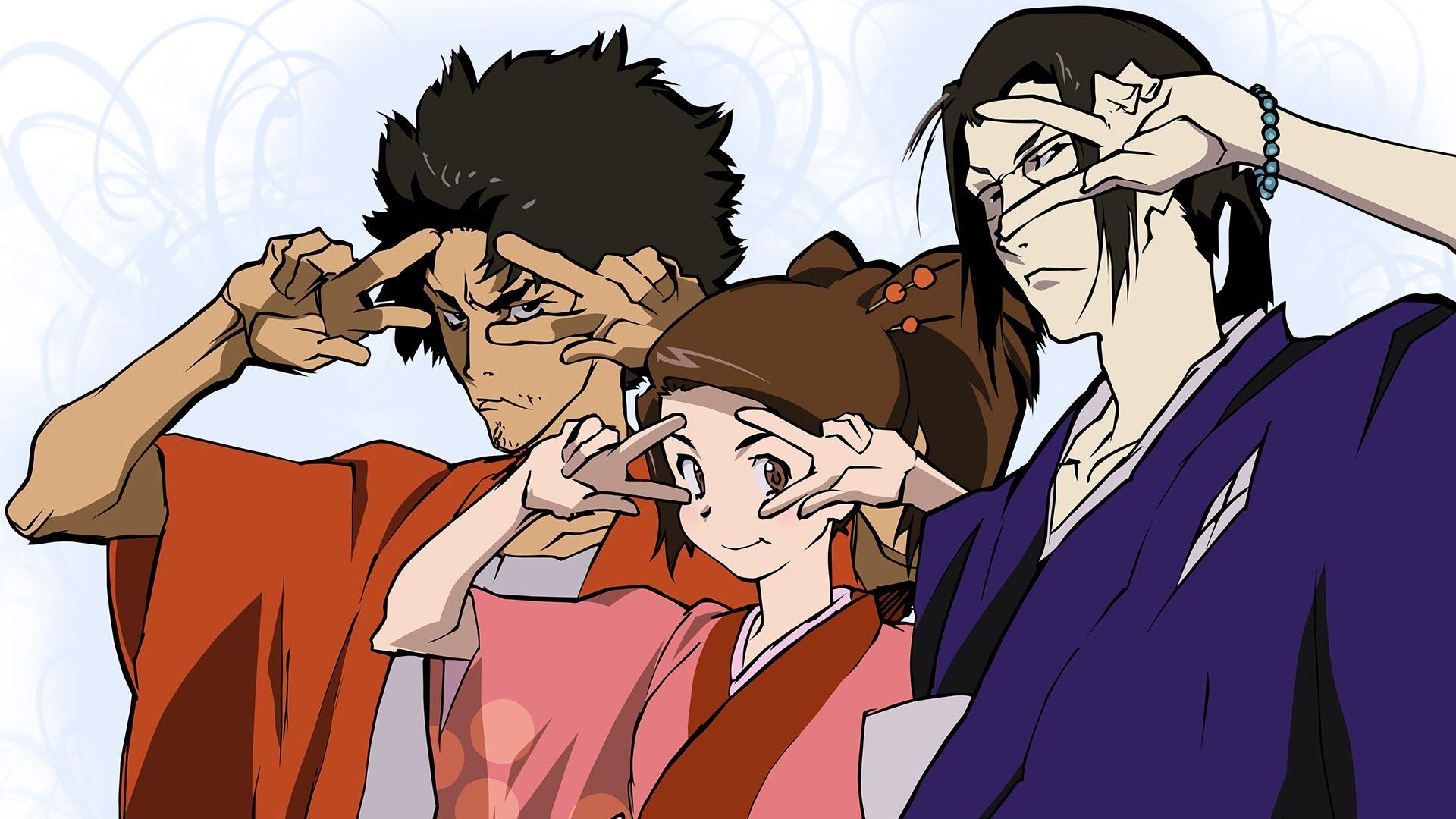 Anime 1920x1080 Jin (Samurai Champloo) Fuu anime boys anime anime girls