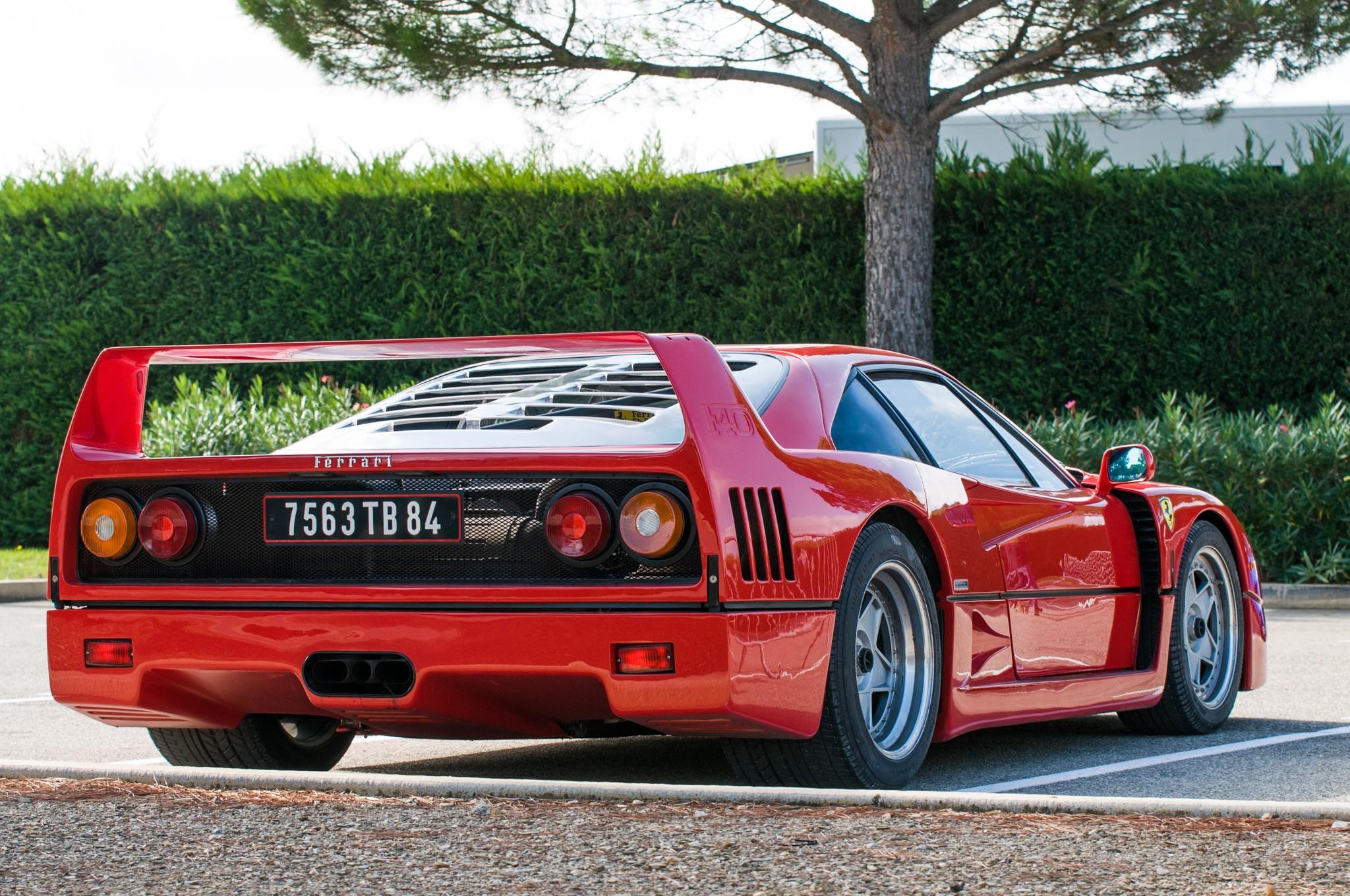 General 2048x1360 Ferrari F40 red Ferrari F40 red cars vehicle