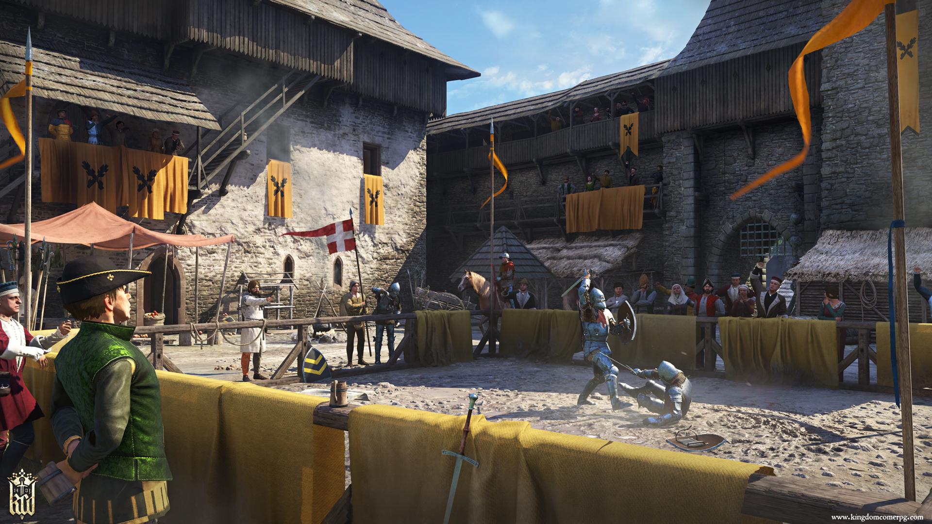 General 1920x1080 Kingdom Come: Deliverance artwork knight warrior city medieval castle