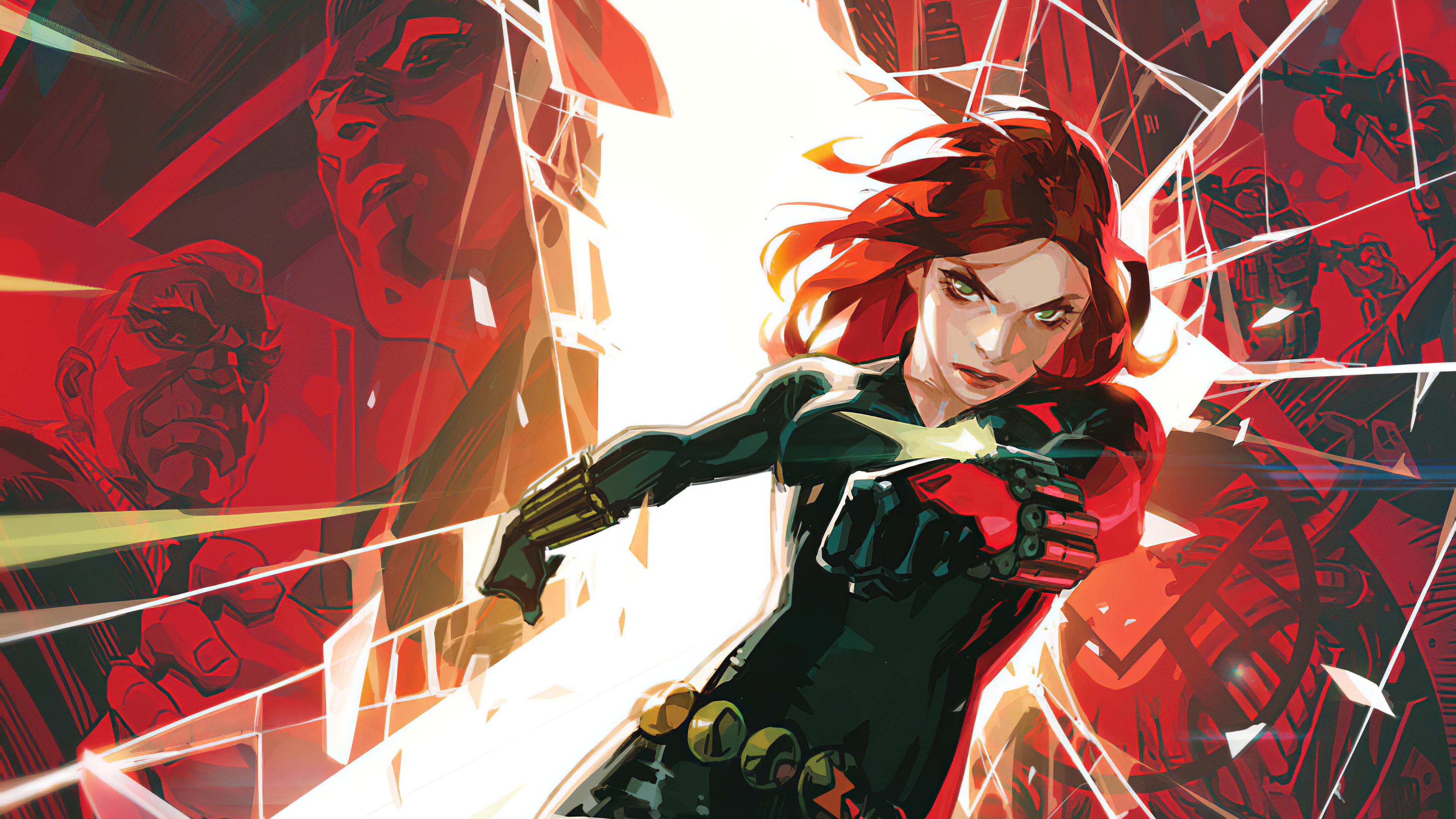 General 3840x2160 Marvel Comics Marvel Cinematic Universe Black Widow Toni Infante