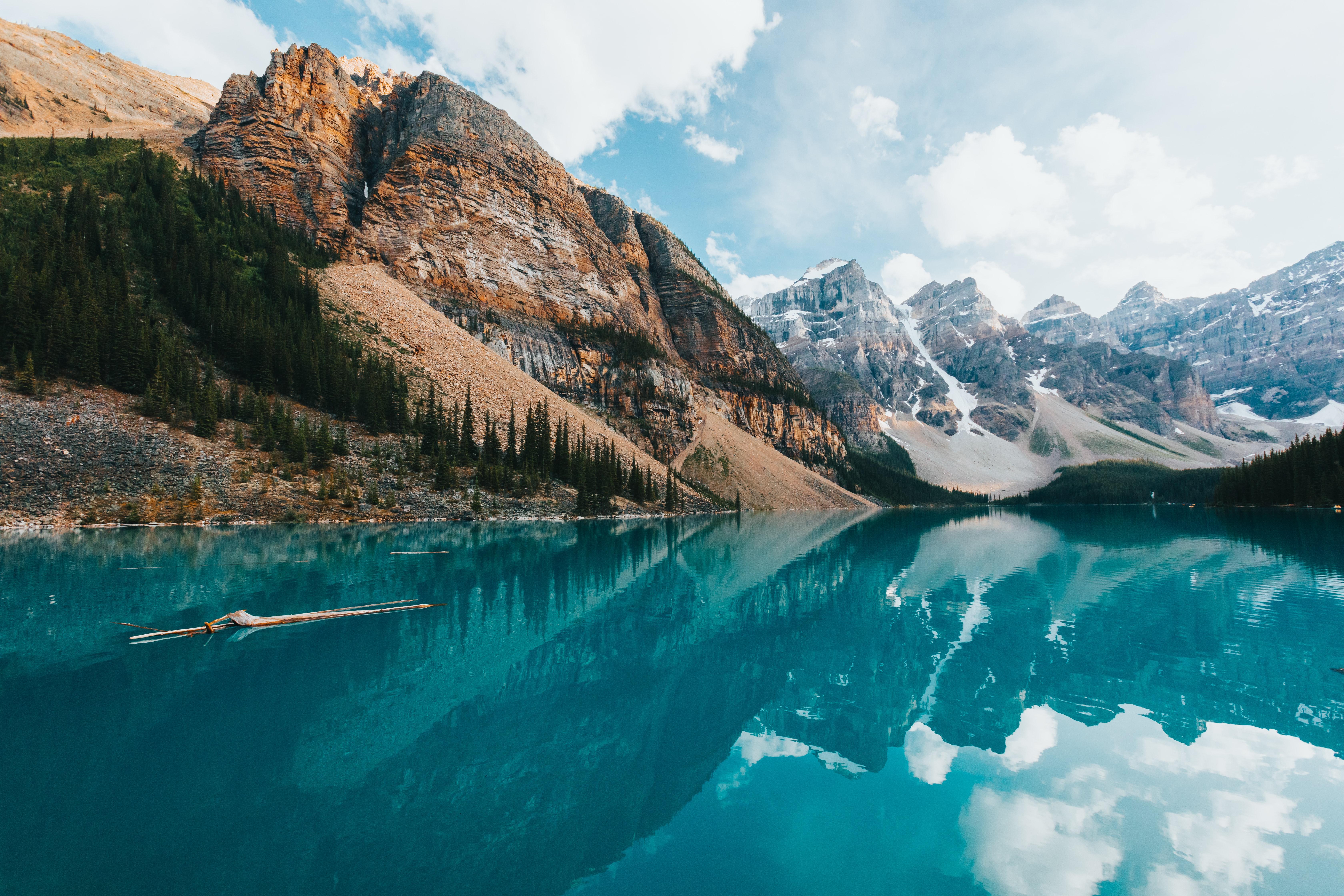 General 6720x4480 landscape nature mountains reflection Banff National Park