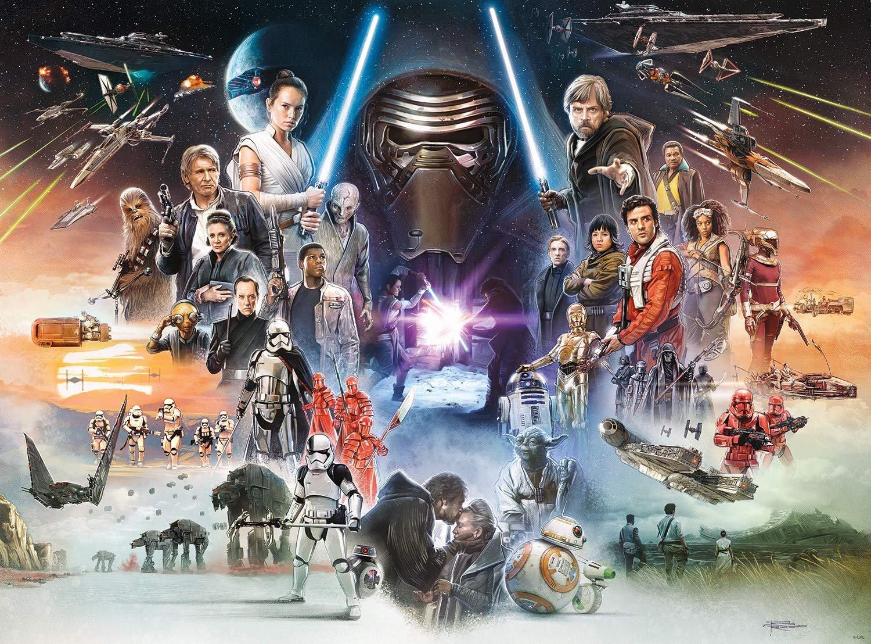 General 1500x1108 Star Wars Skywalker movies science fiction collage Star Wars Heroes Star Wars Villains
