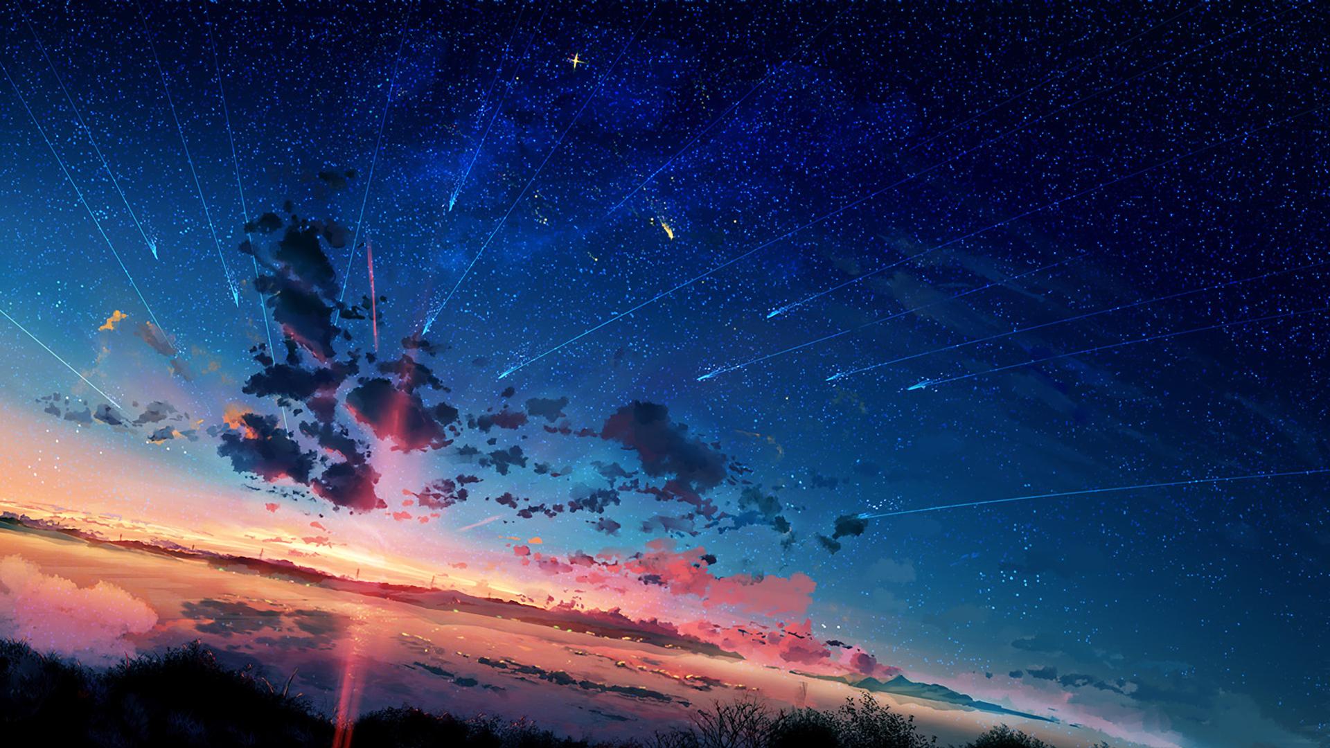 Anime 1920x1080 landscape sky anime