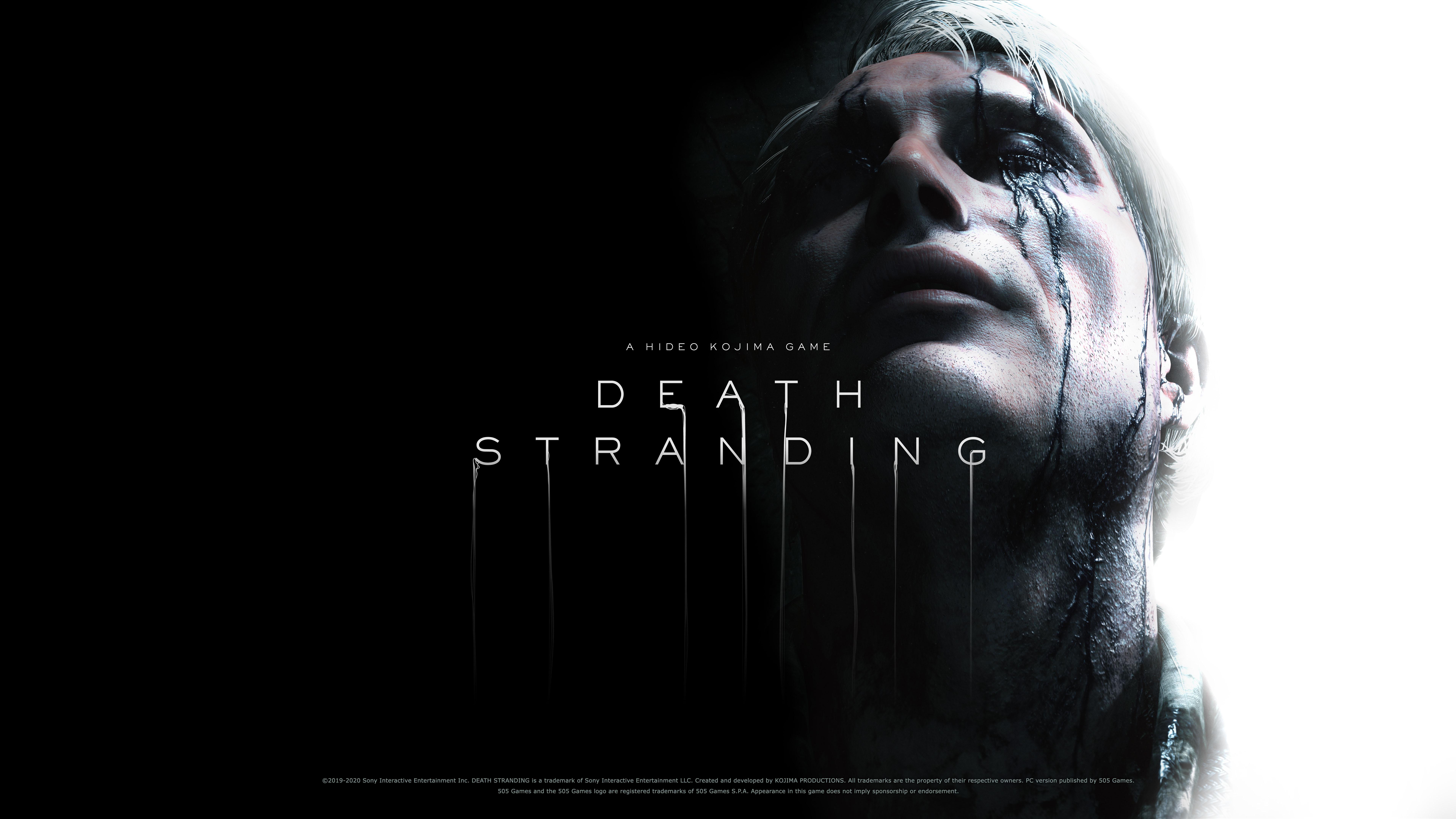 General 7680x4320 Death Stranding Hideo Kojima Mads Mikkelsen Cliff Unger (Death Stranding) video games